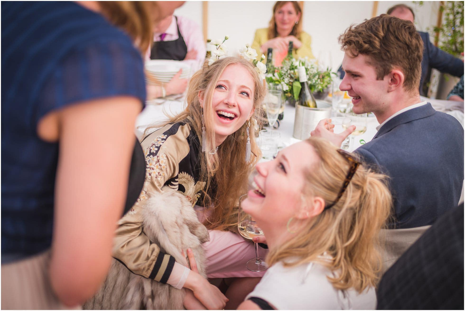 Fun wedding photography at The Mill