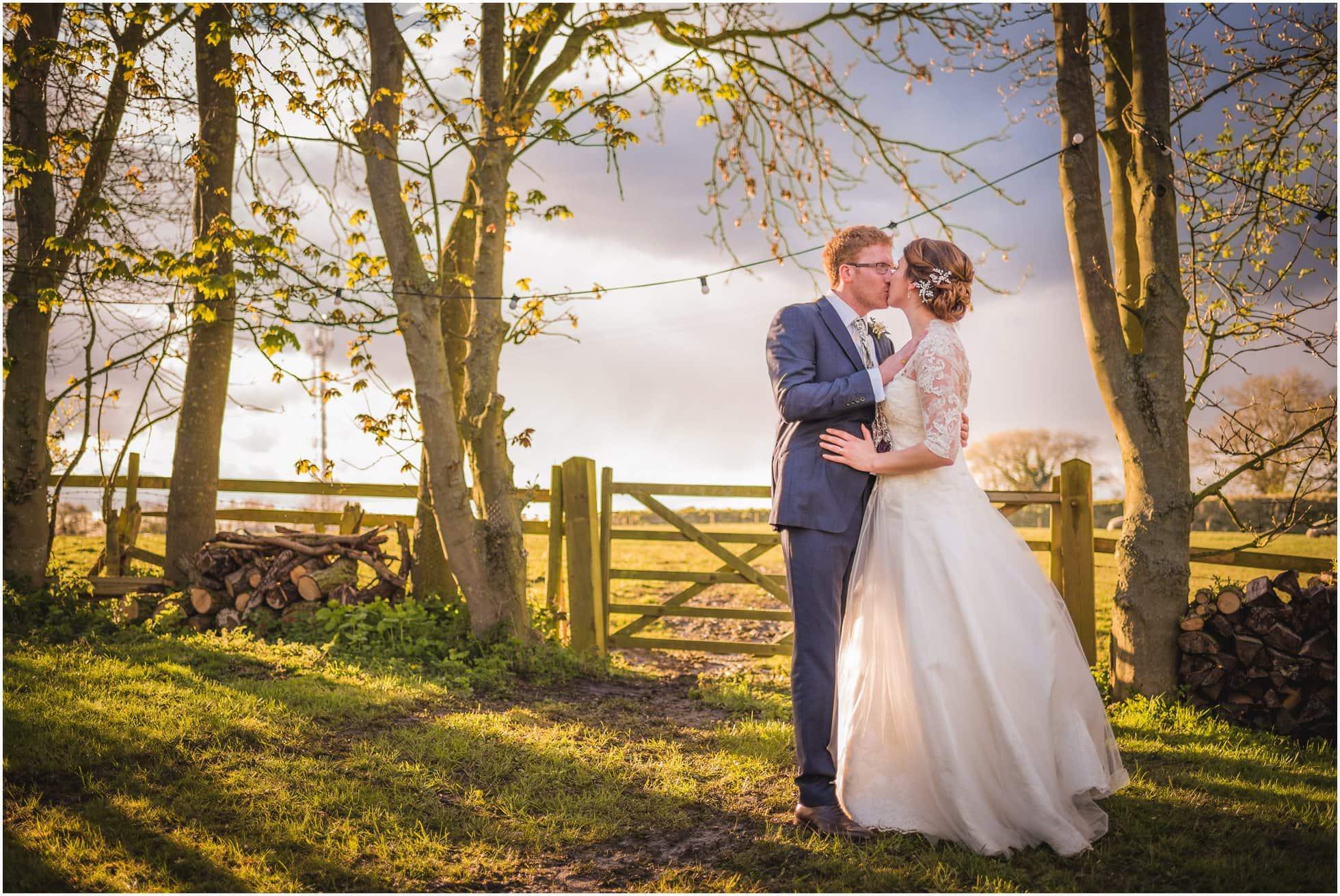 York country wedding informal portraits