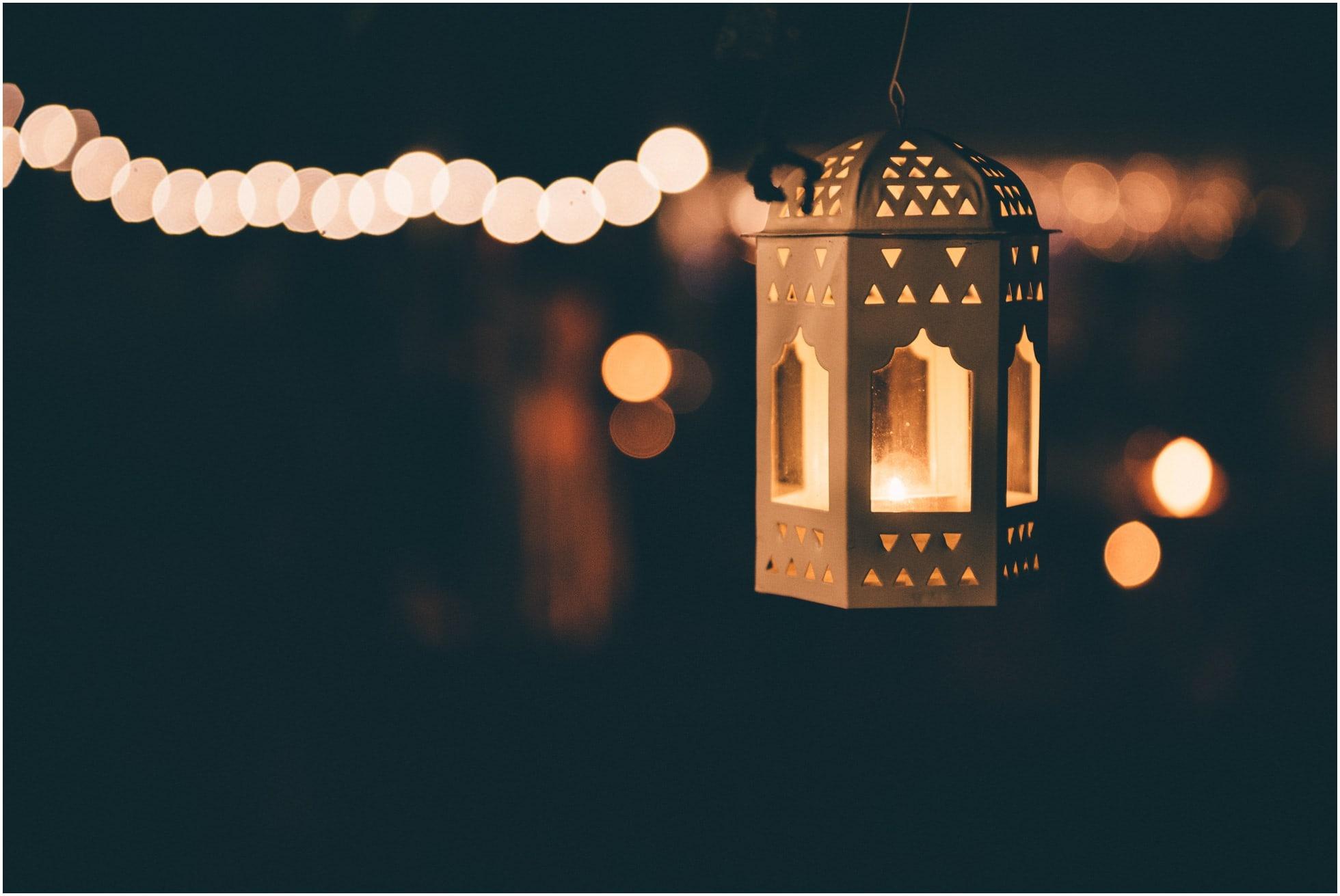 Pretty lantern at The Mill