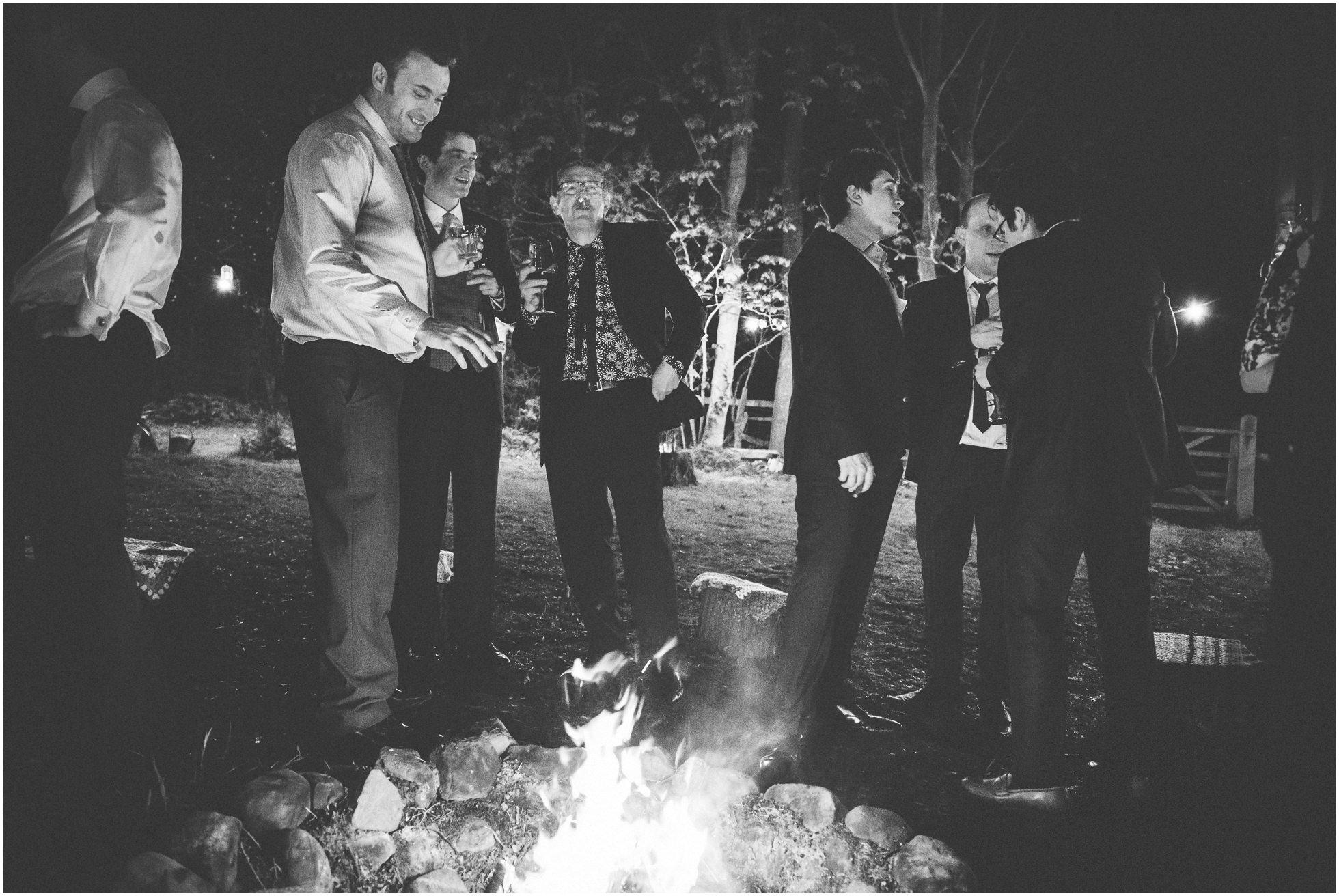 Cigars around the campfire in Stillington
