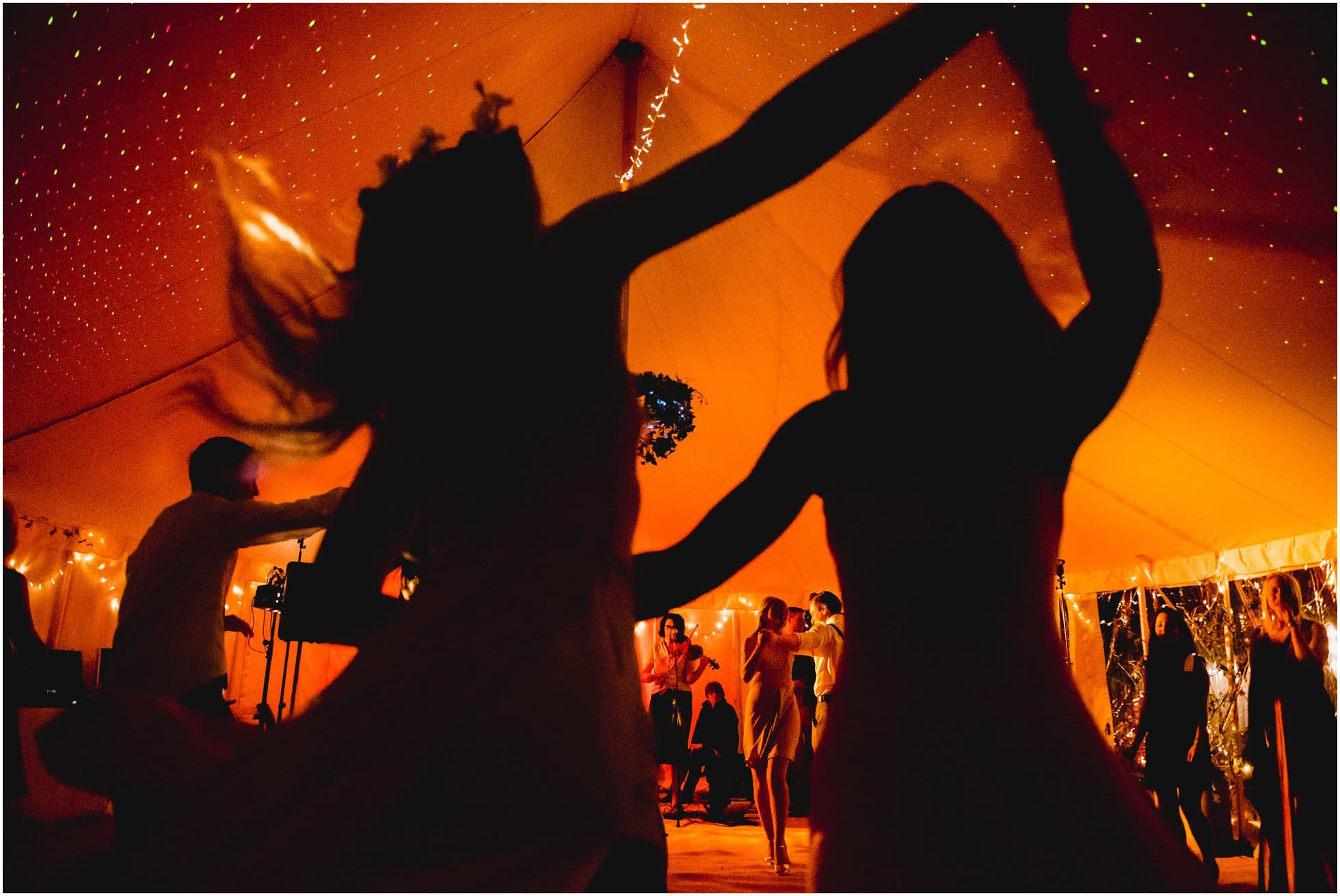 York wedding photography of dancing girls at Mill Wedding