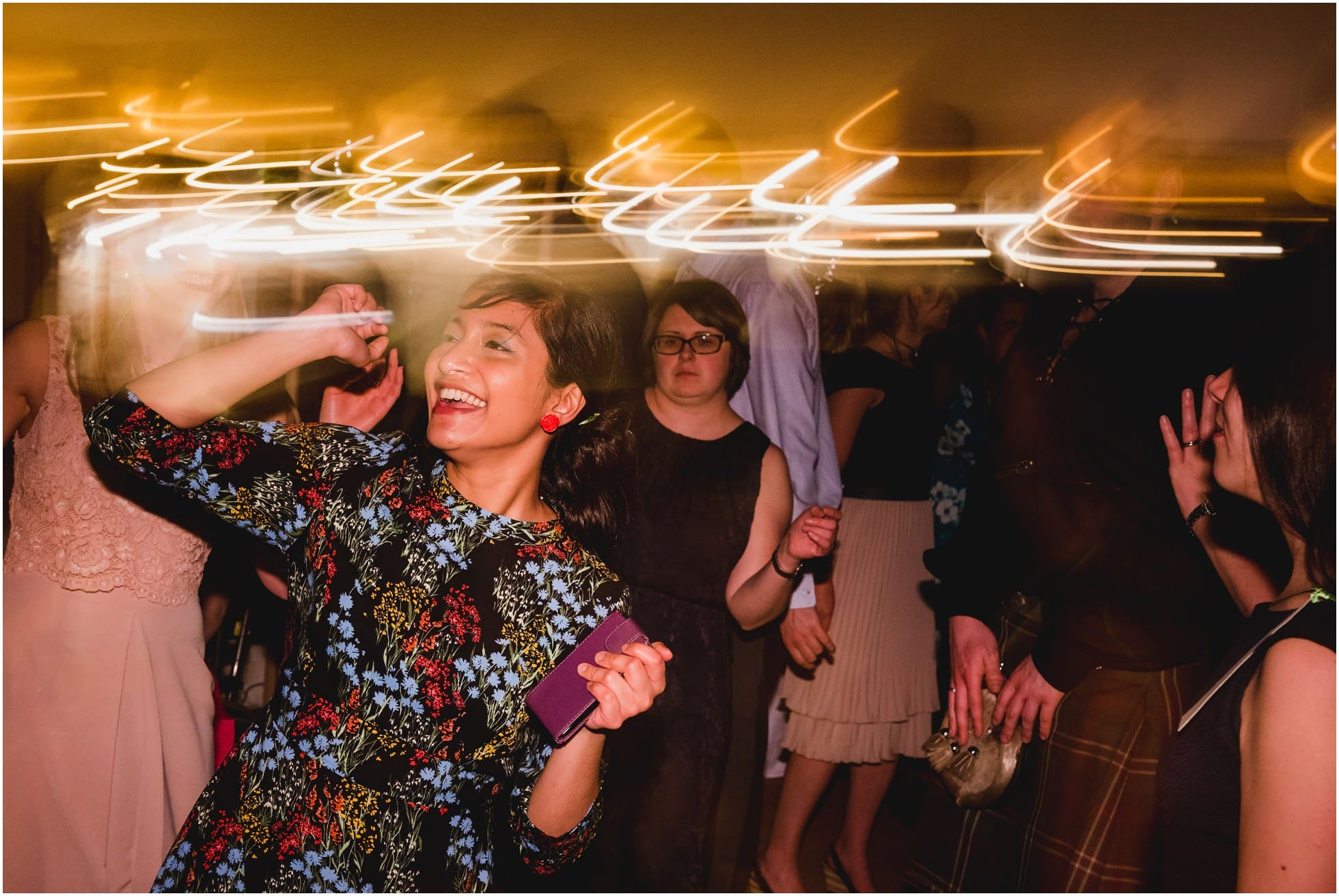 Blinded by the lights York wedding photography fun