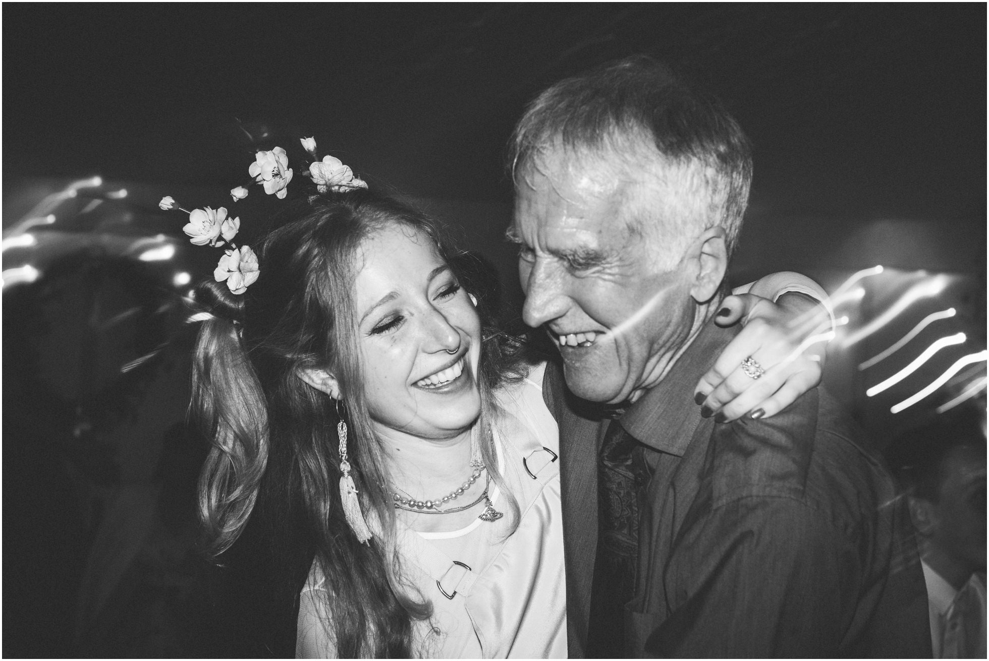 Father and daughter fun on the dancefloor