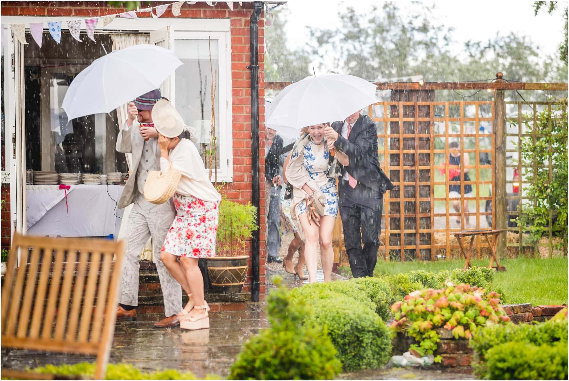 wet wedding!