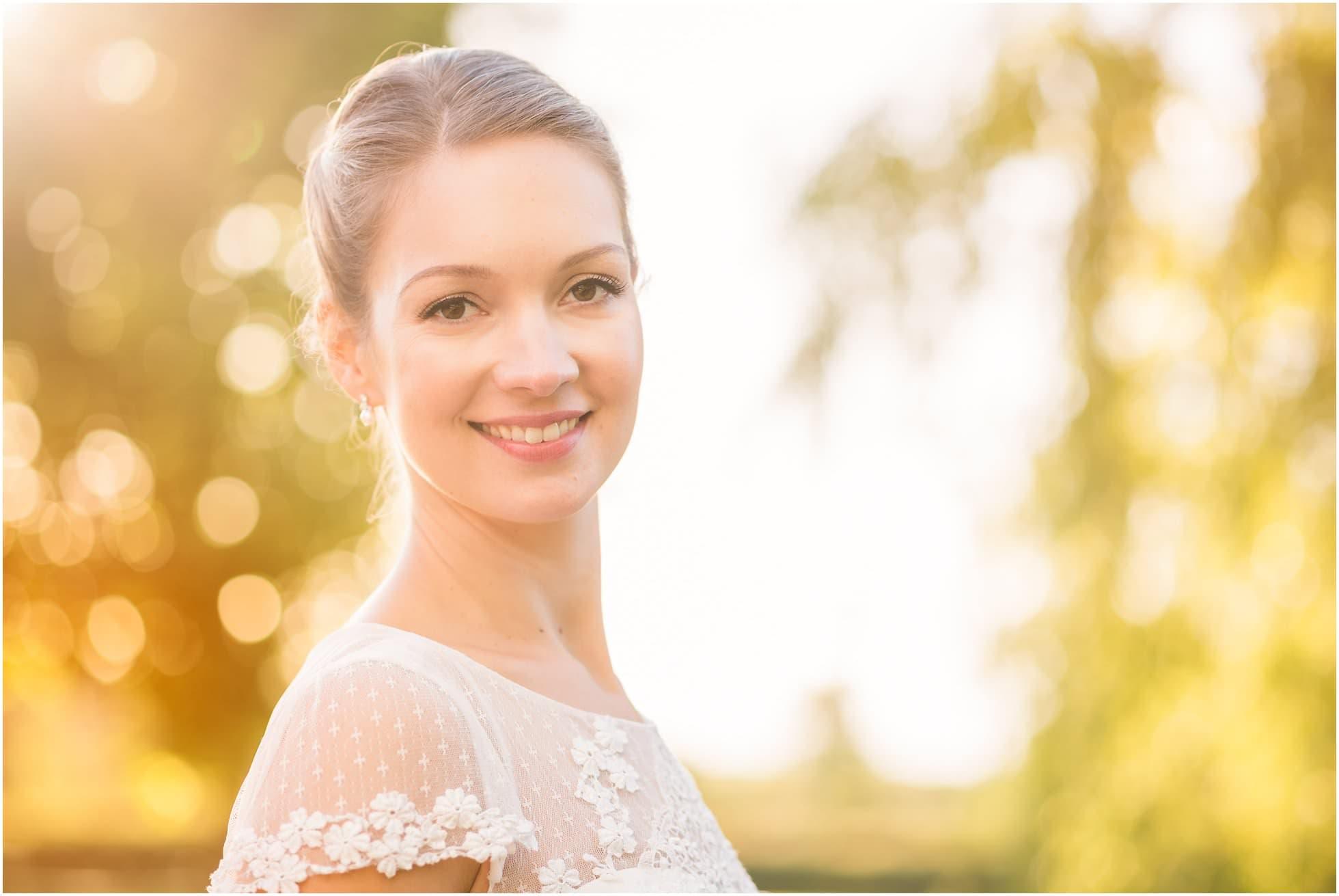 A stunning Suffolk bride