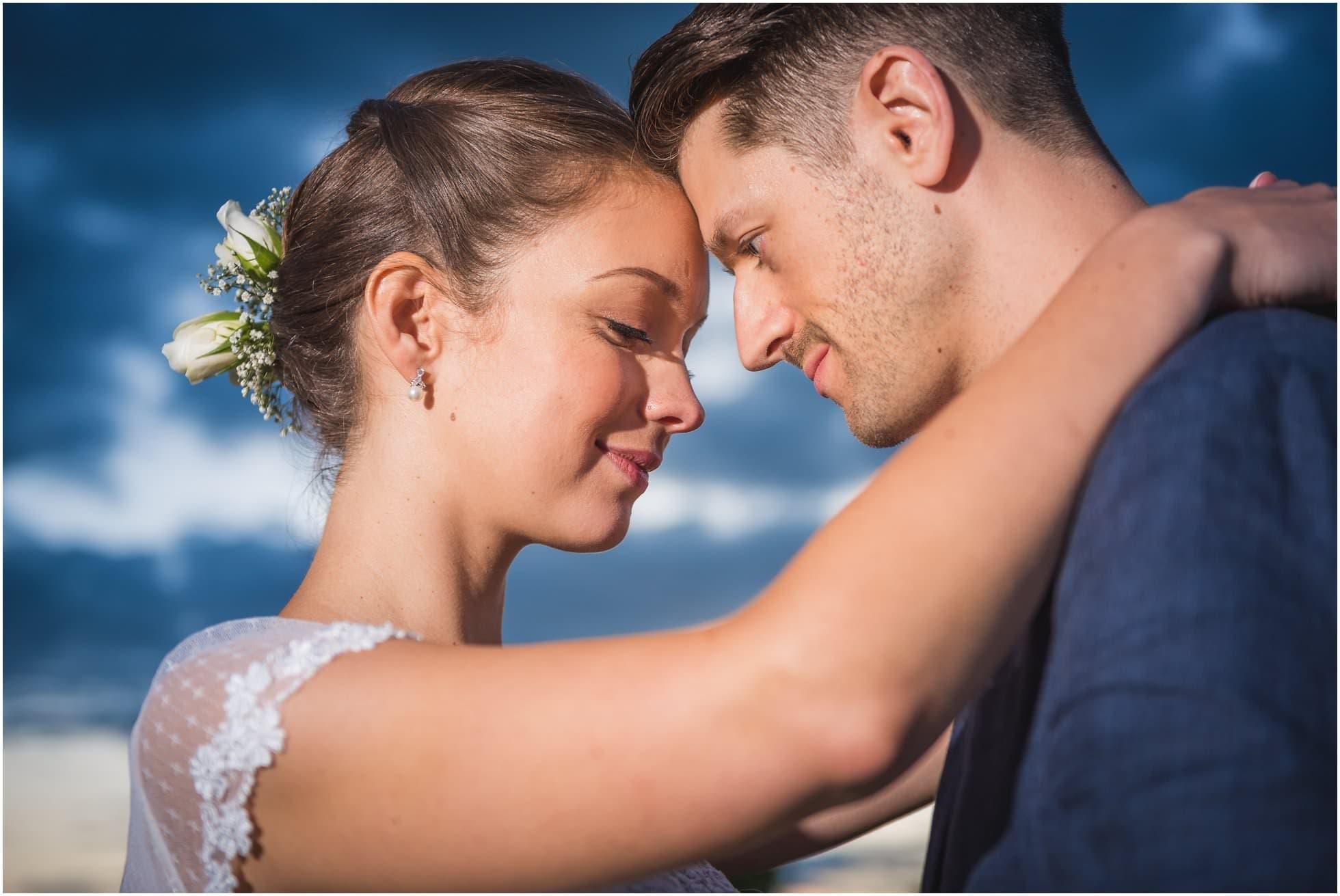 East Anglia Wedding Photographer Winston Sanders shot of this stunning bride and groom