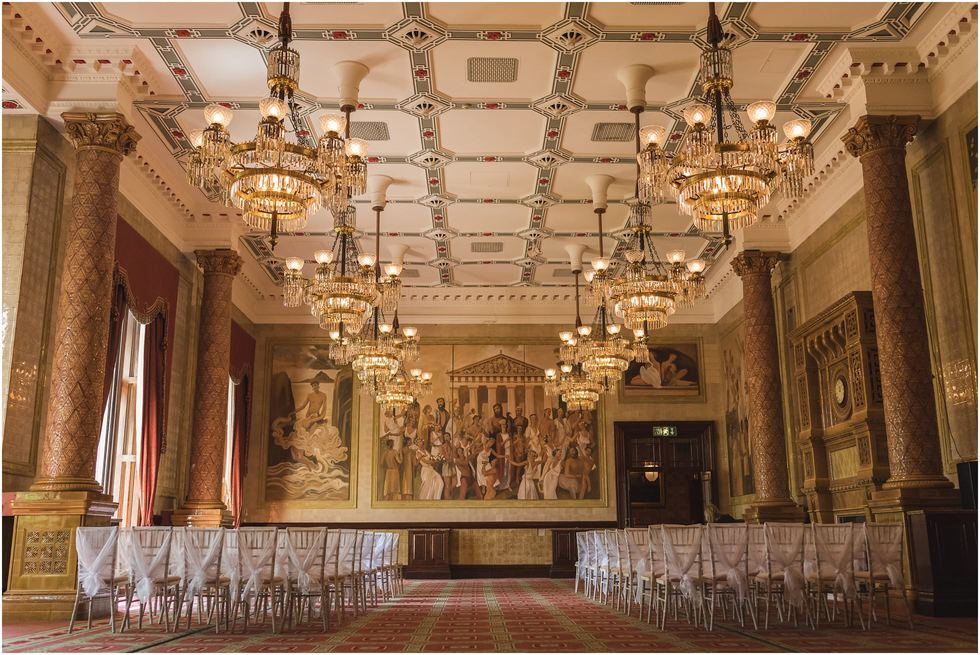 One Whitehall Place Wedding Venue