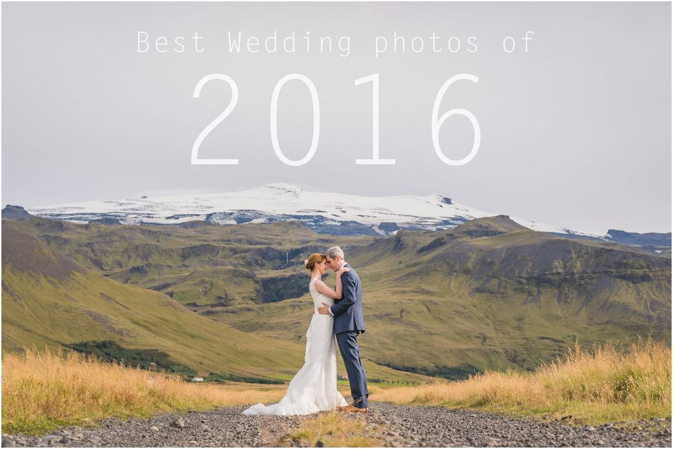 Best wedding photos of 2016