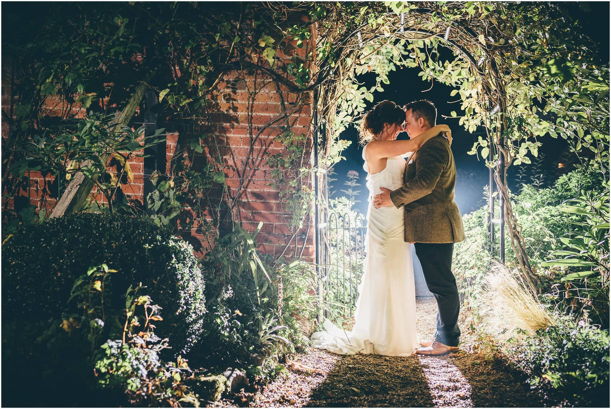 Milsoms garden excellent for wedding photography