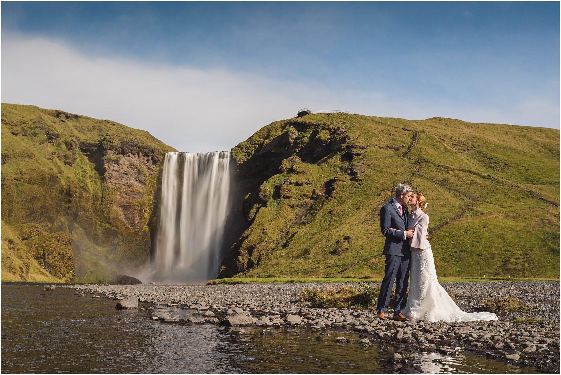 Skógarfoss Wedding Photography