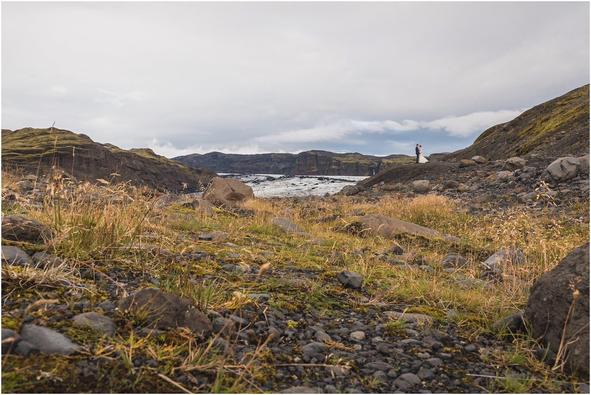 Sólheimajökull glacier wedding