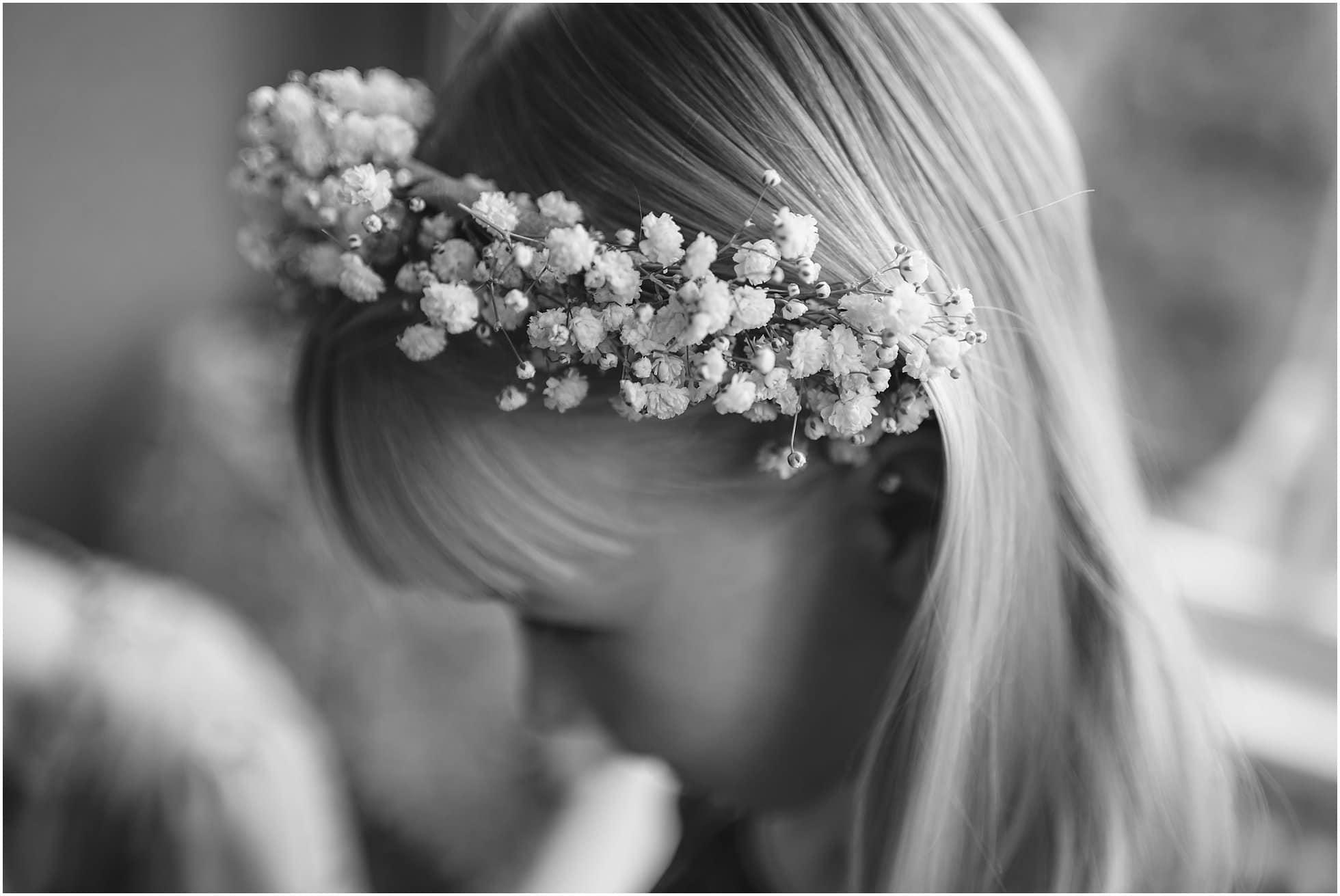 Bridesmaid head dress