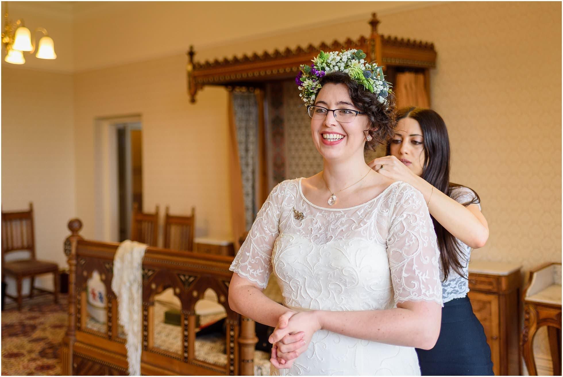 Bride ready!