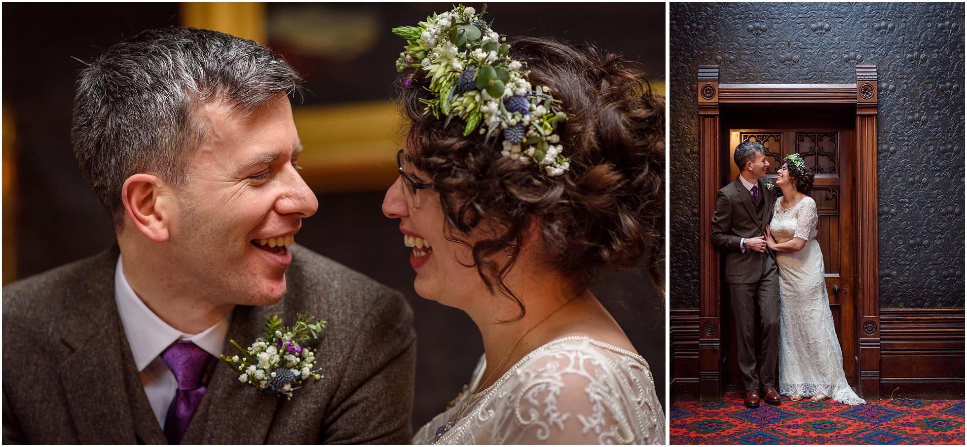 Highbury Hall Wedding smiles