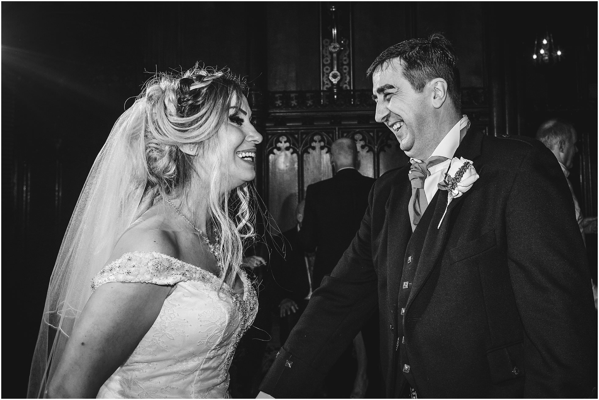 First dance at a Allerton Castle Wedding