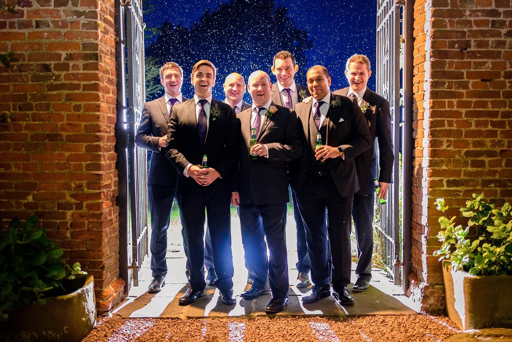 Groomsmen shot at Birtsmorton Court