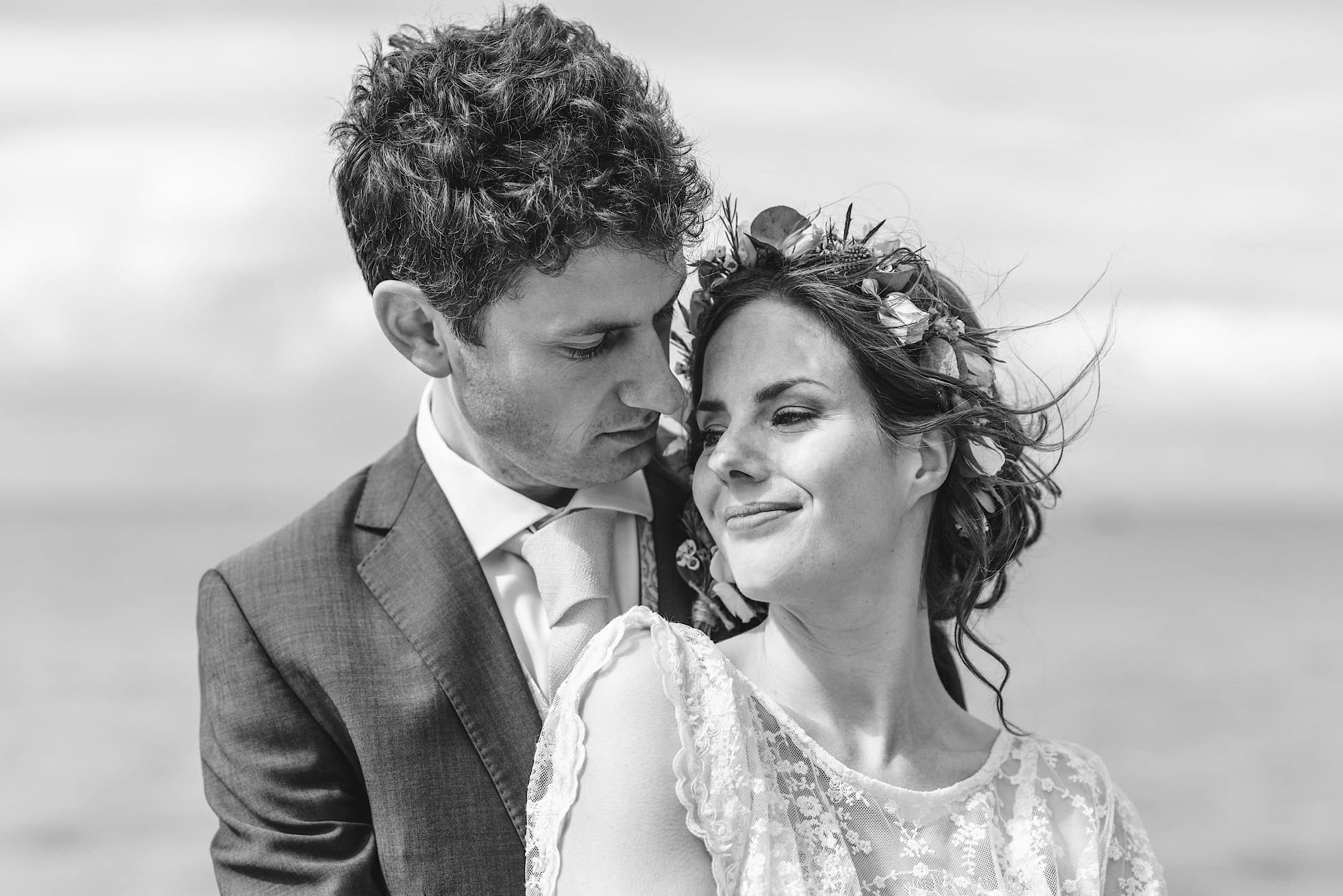 Bride and Groom, East Quay Venue Wedding Photographer