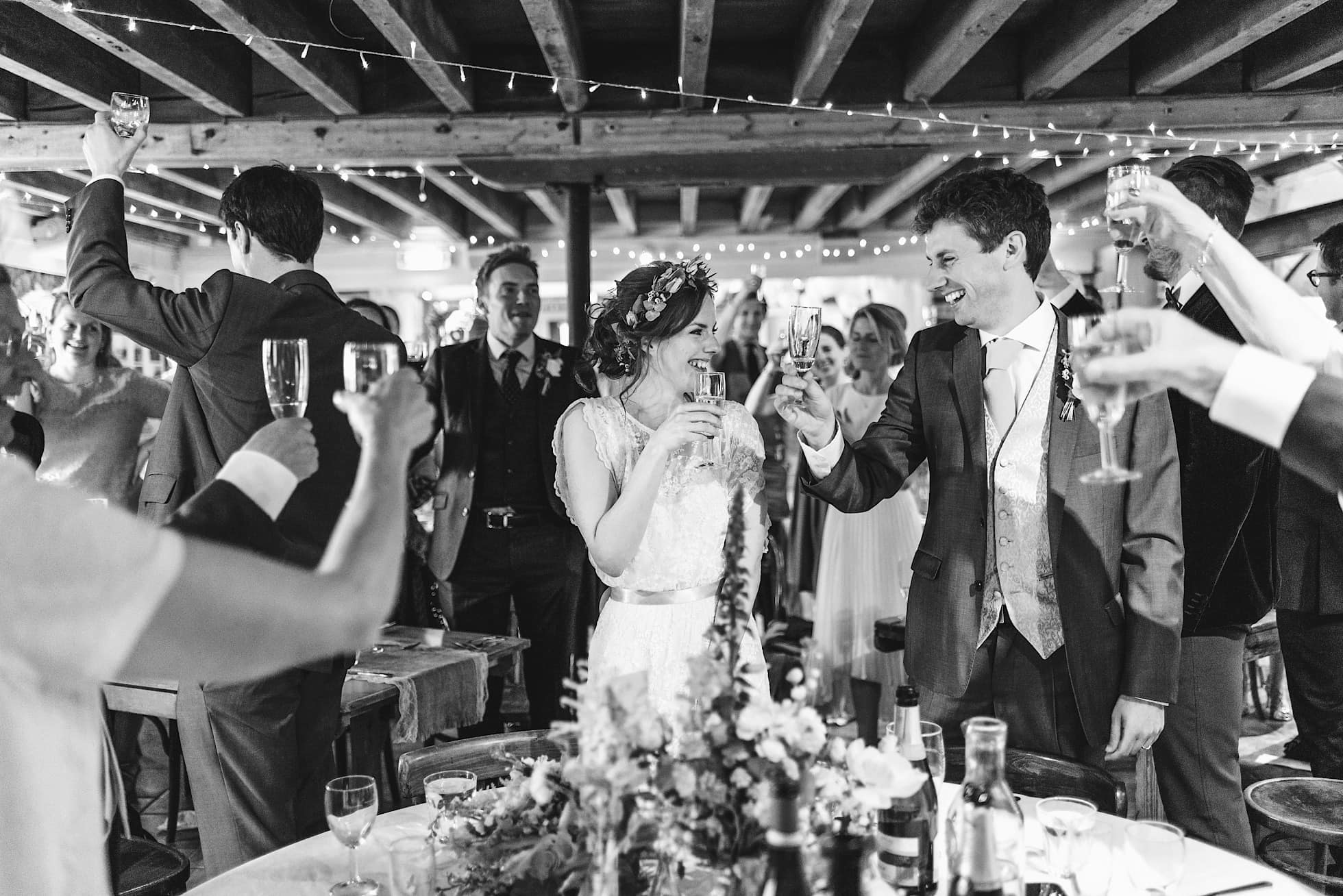 East Quay Venue wedding reception