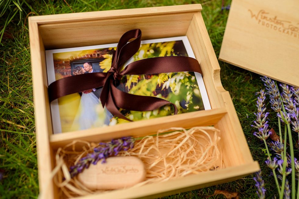 Wooden Print and USB box