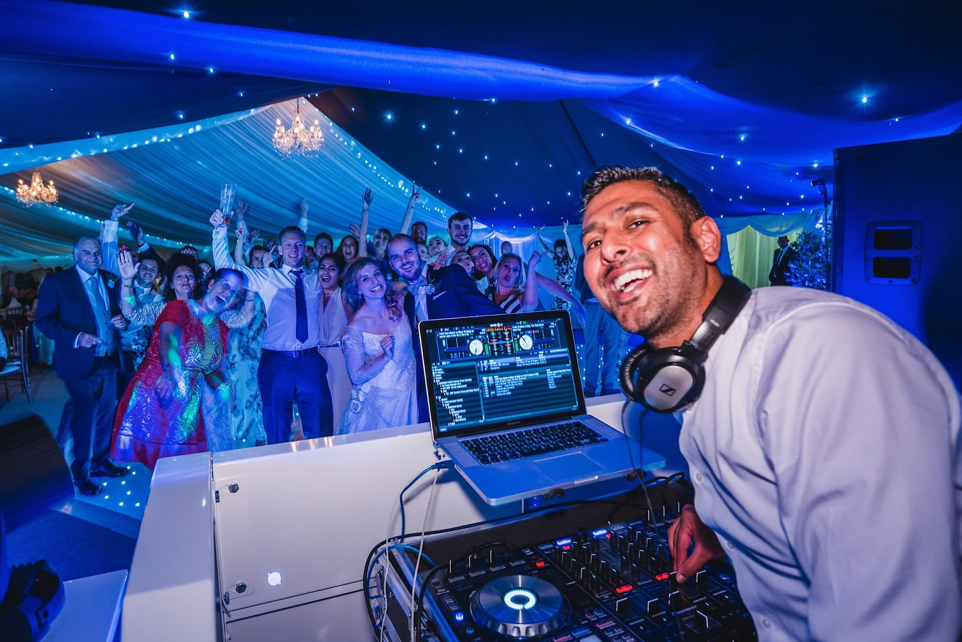 DJ Rav C wedding DJ for Essex