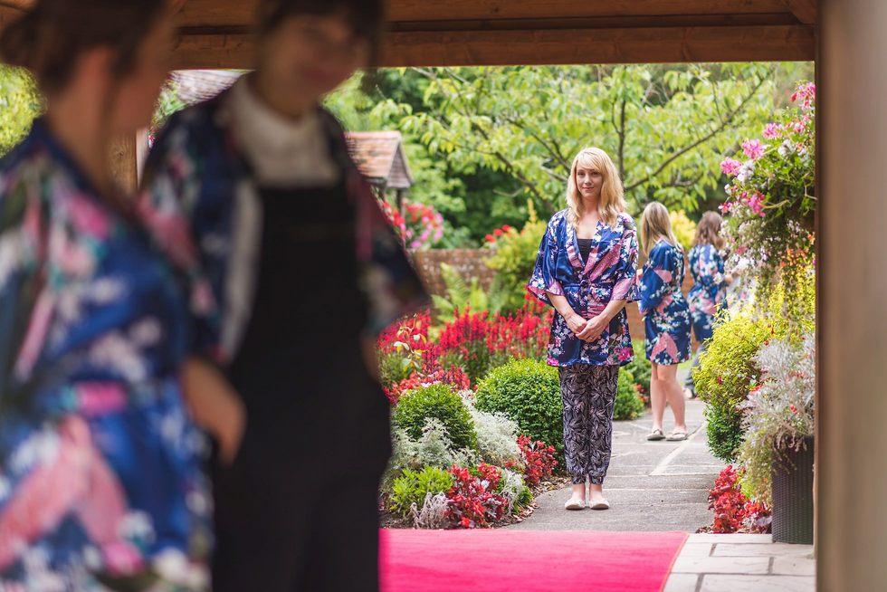 Wedding rehearsal at Mangapp Manor