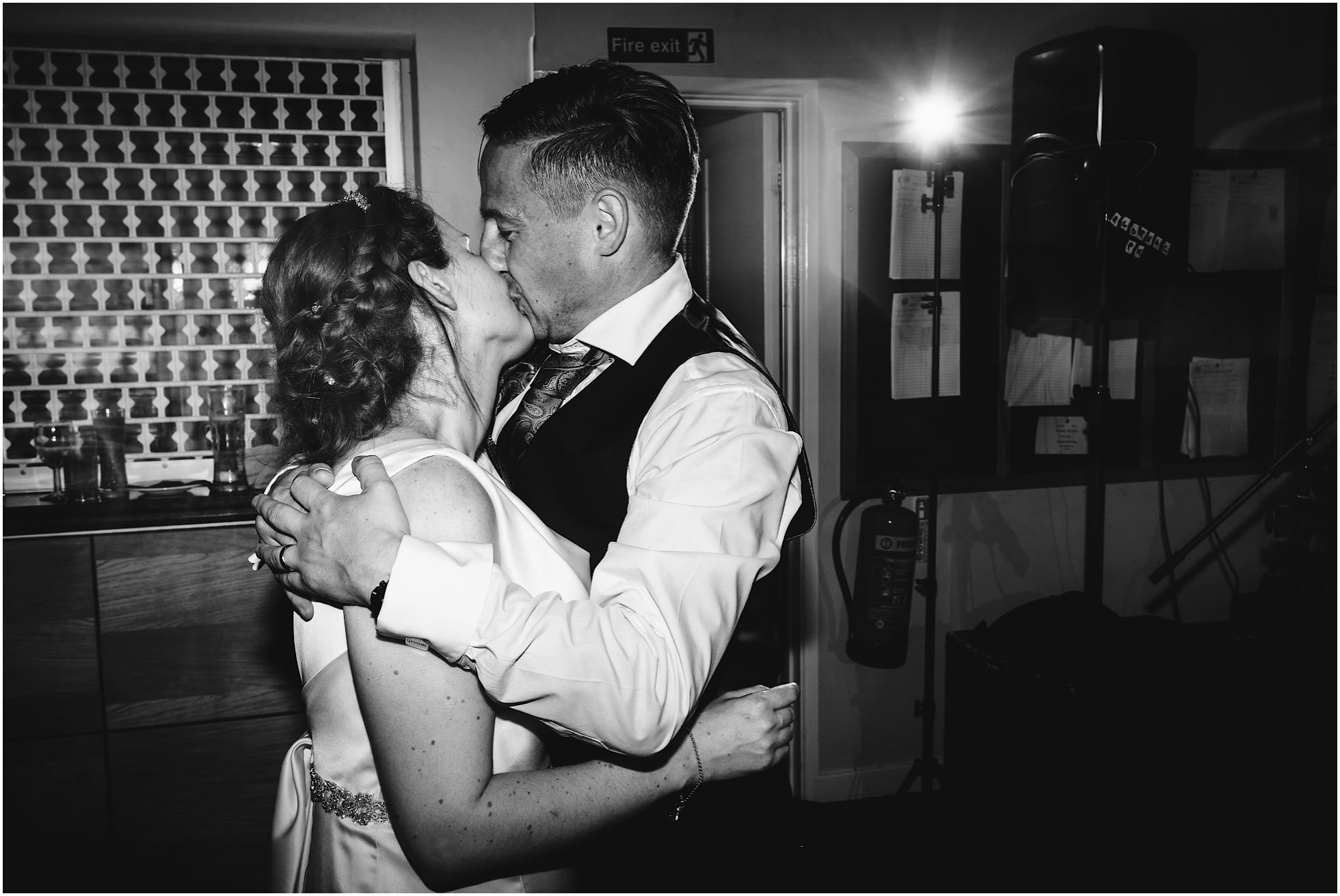 Kisses on the dancefloor of this amazing Royal Corinthian Yacht Club Wedding
