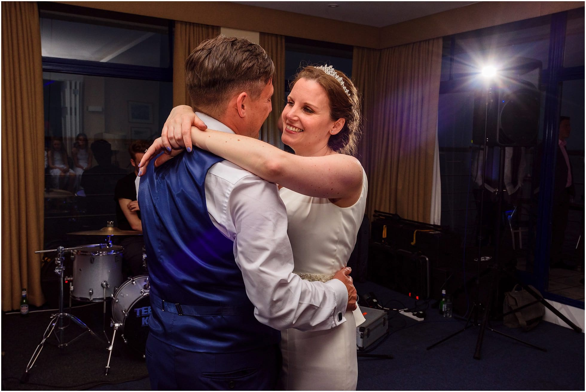 First dance at Royal Corinthian Yacht Club Wedding