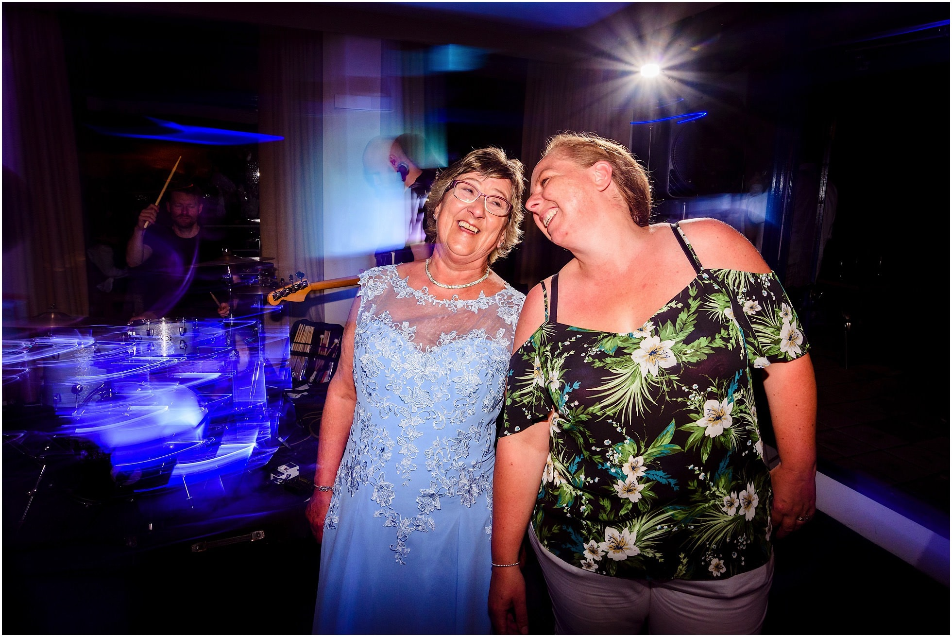 Happy ladies on the dancefloor