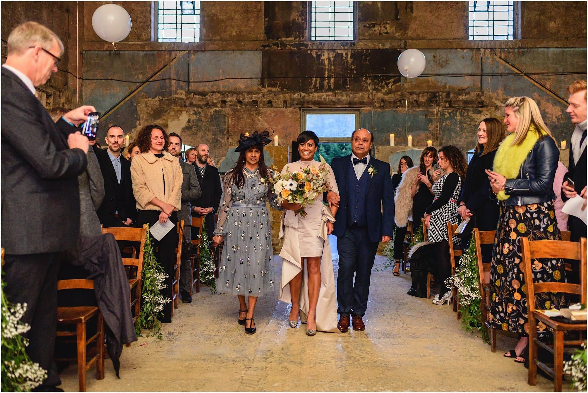 asylum chapel wedding bride