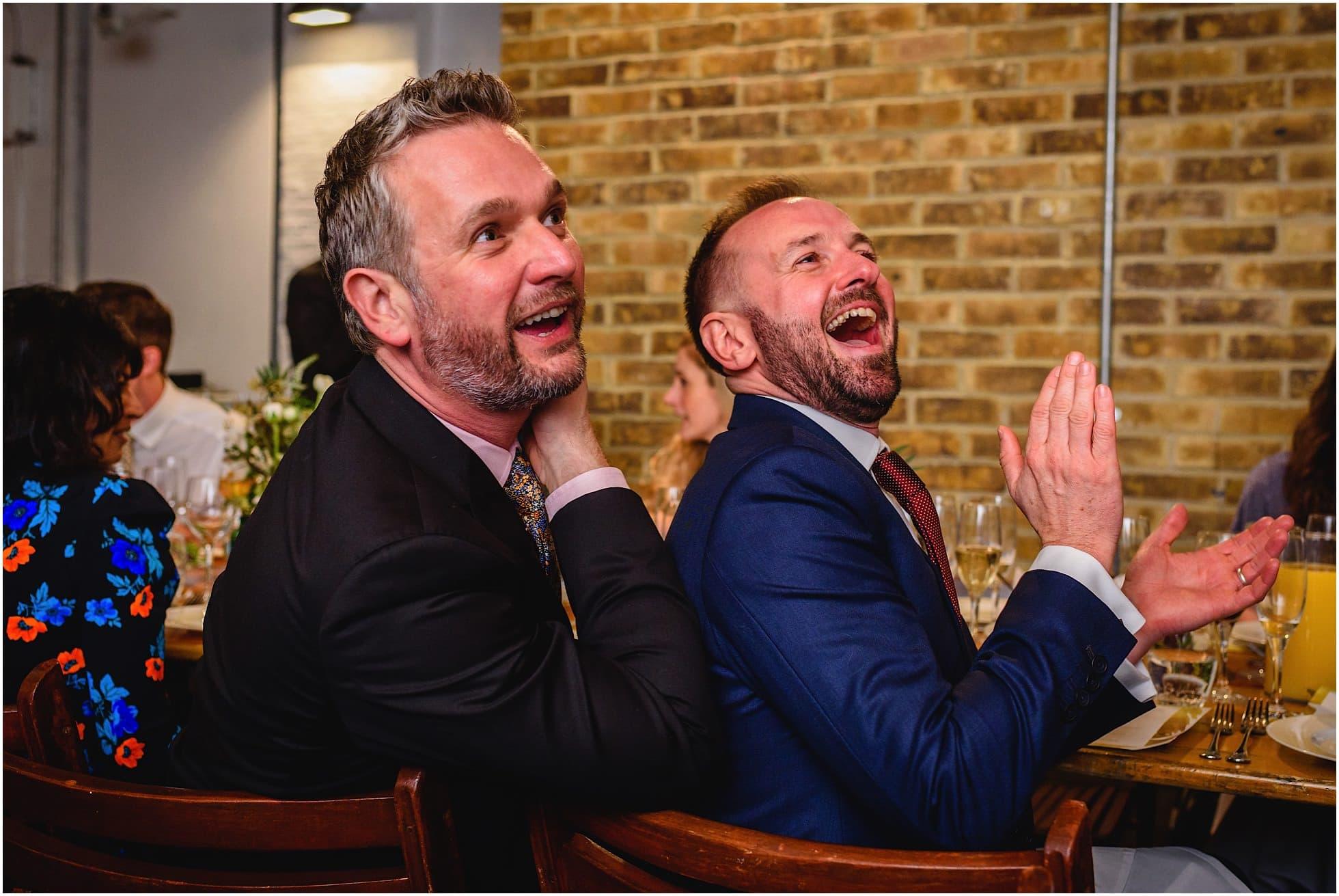 Guests loving Brixton East Wedding