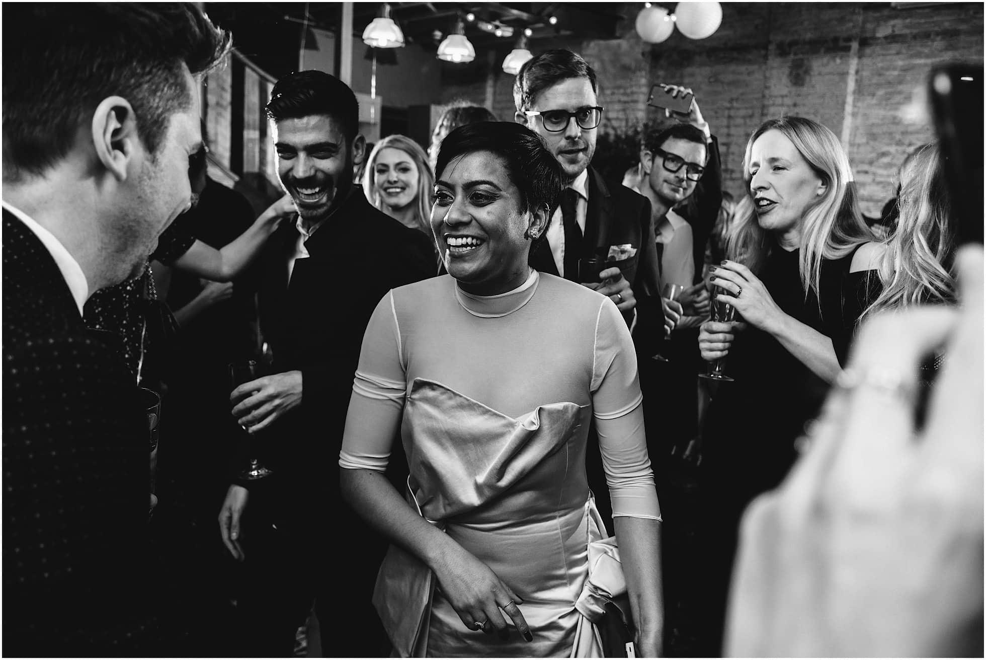Bride on the dancefloor