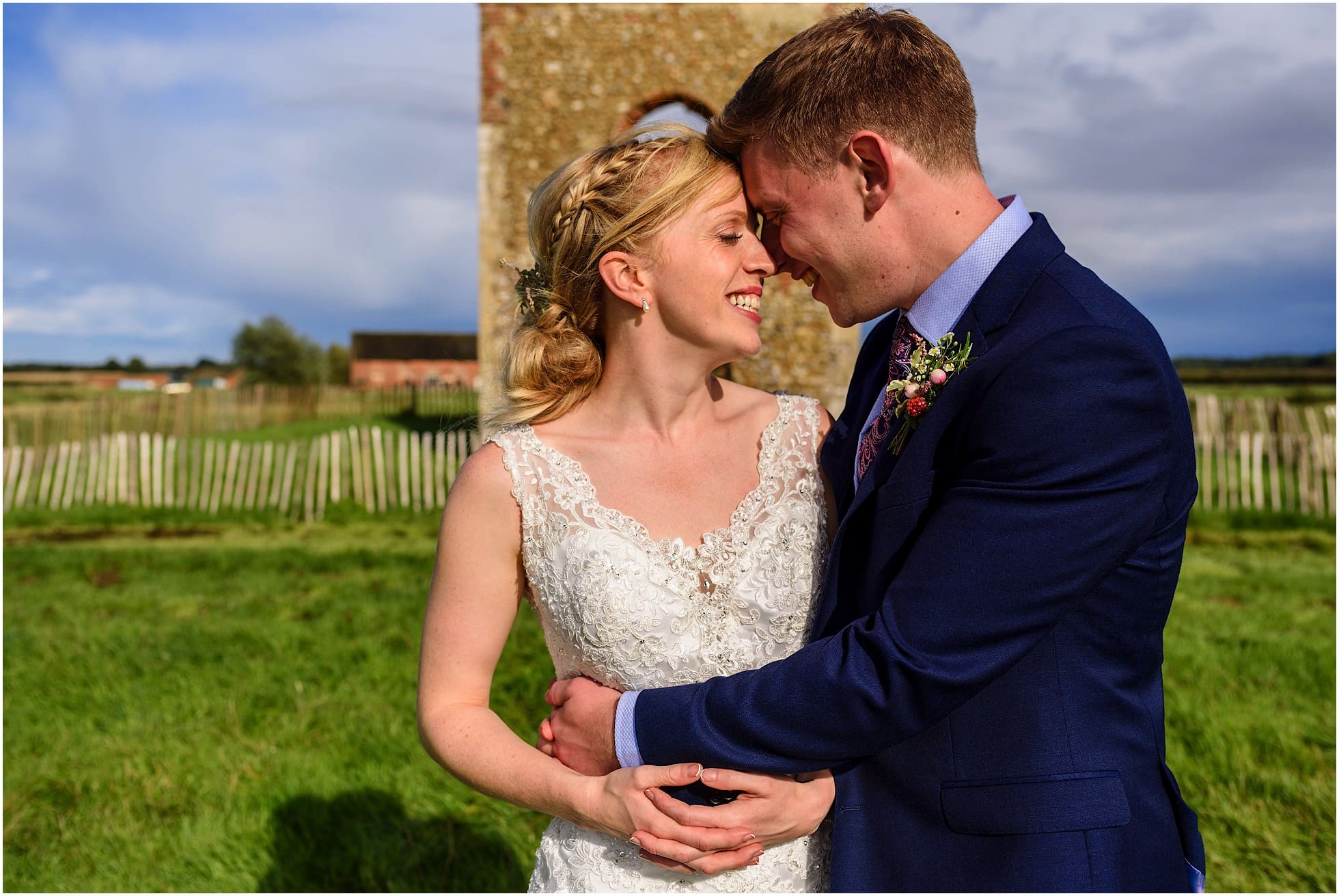 Godwick Barn and Great Hall Wedding Photographer