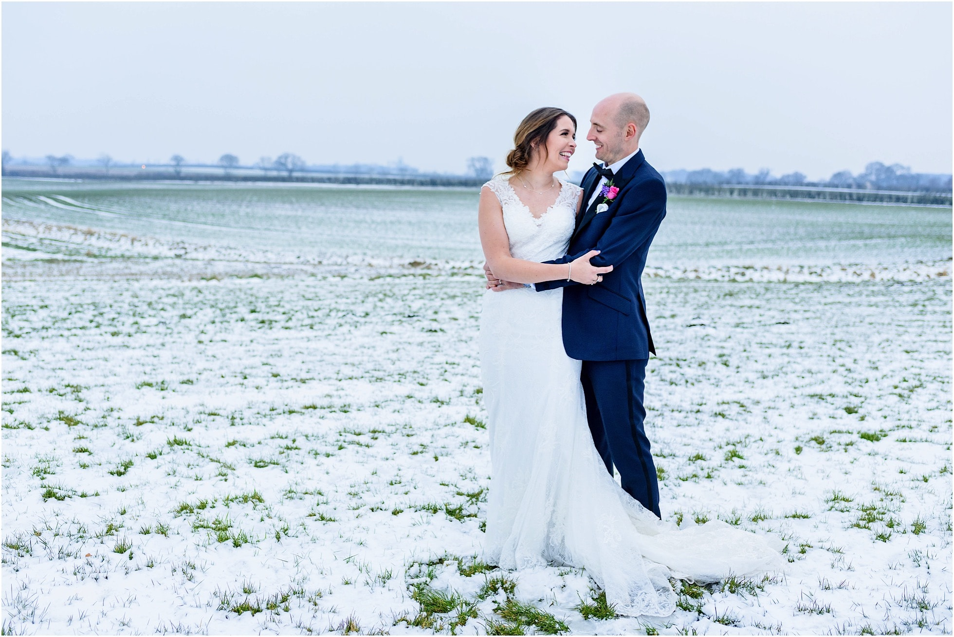 Yorkshire Winter Wedding Photography - Priory Barn & Cottages