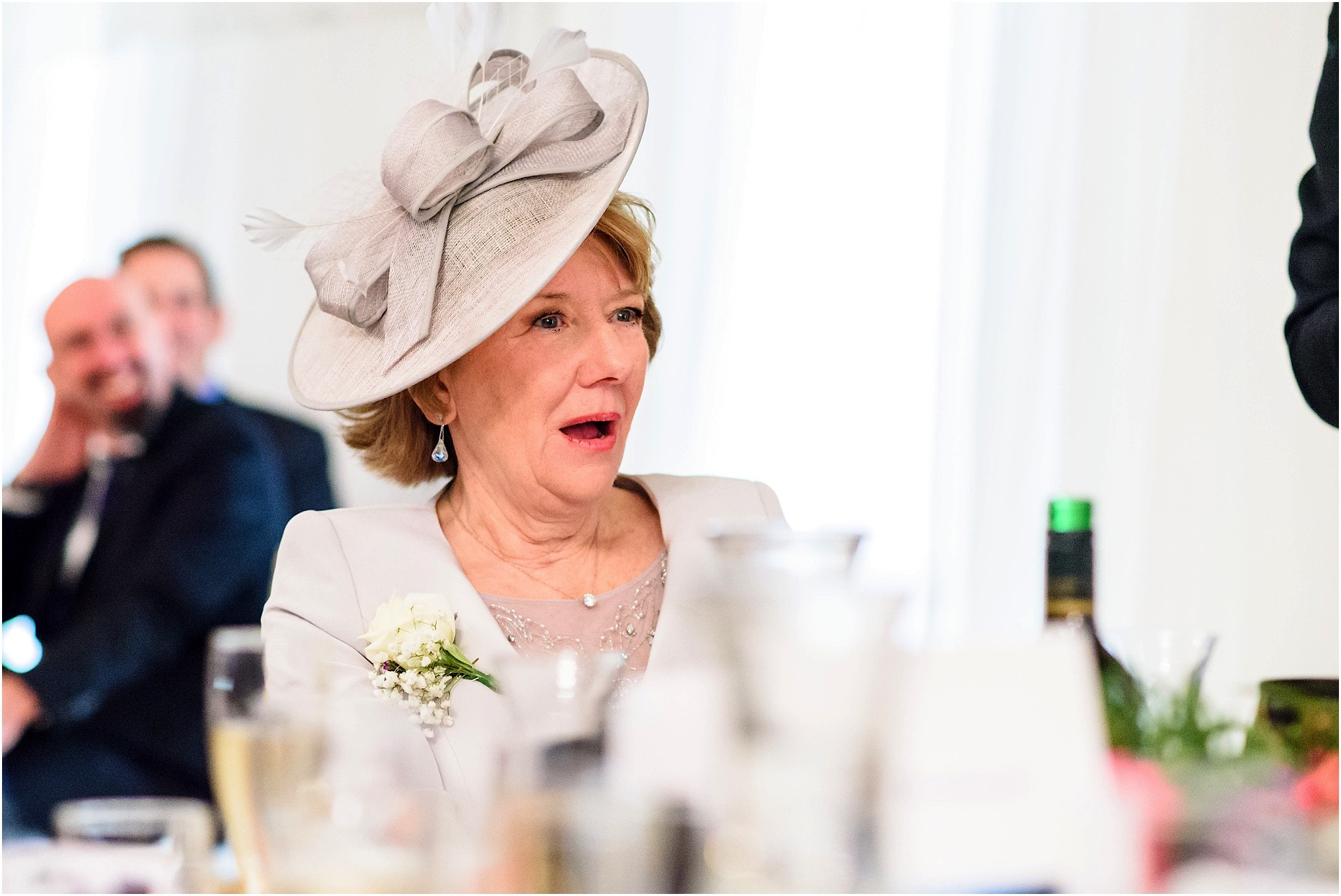 mother's shock at the speeches