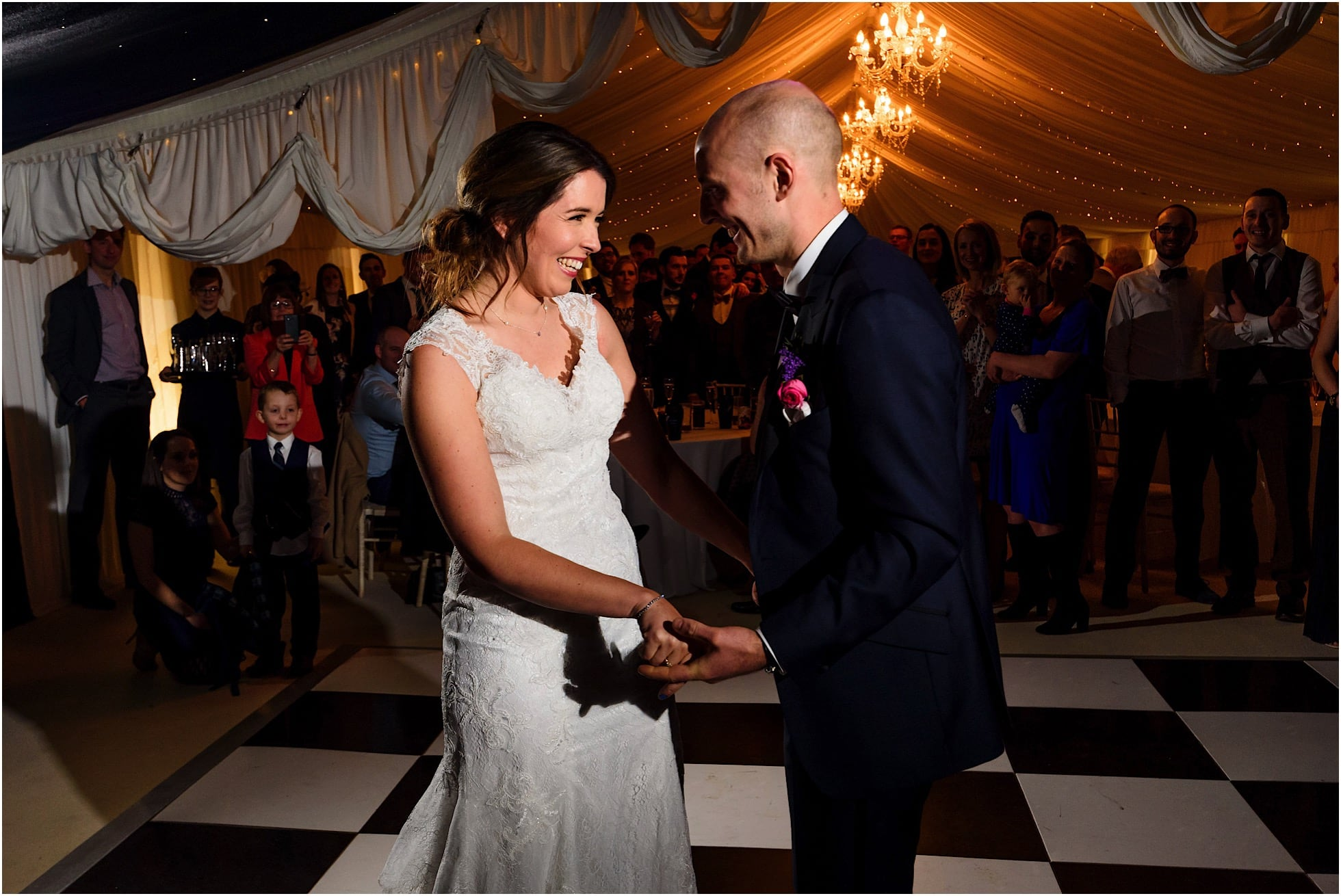 first dance at Priory Cottages, Wetherby