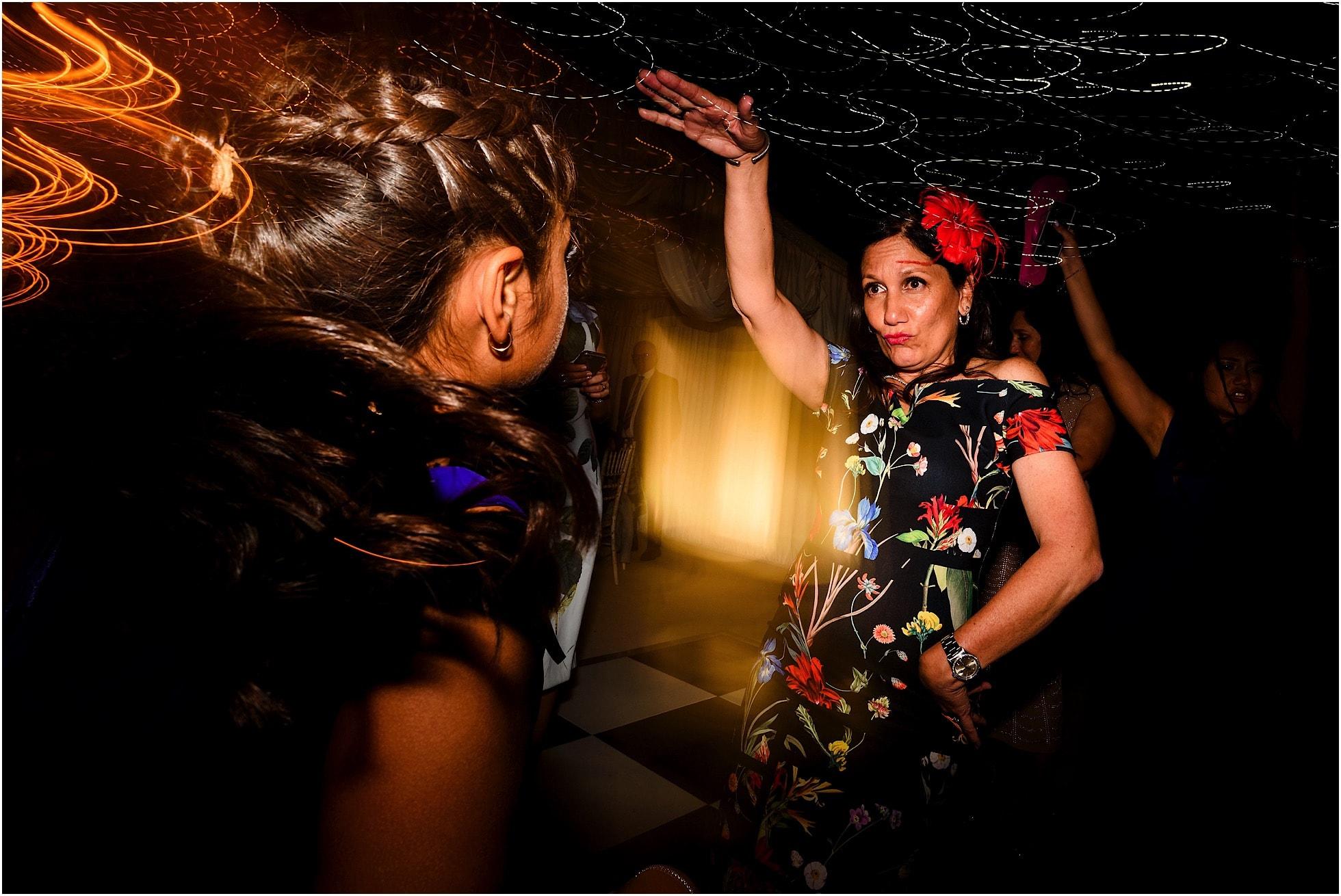 dancing action shots