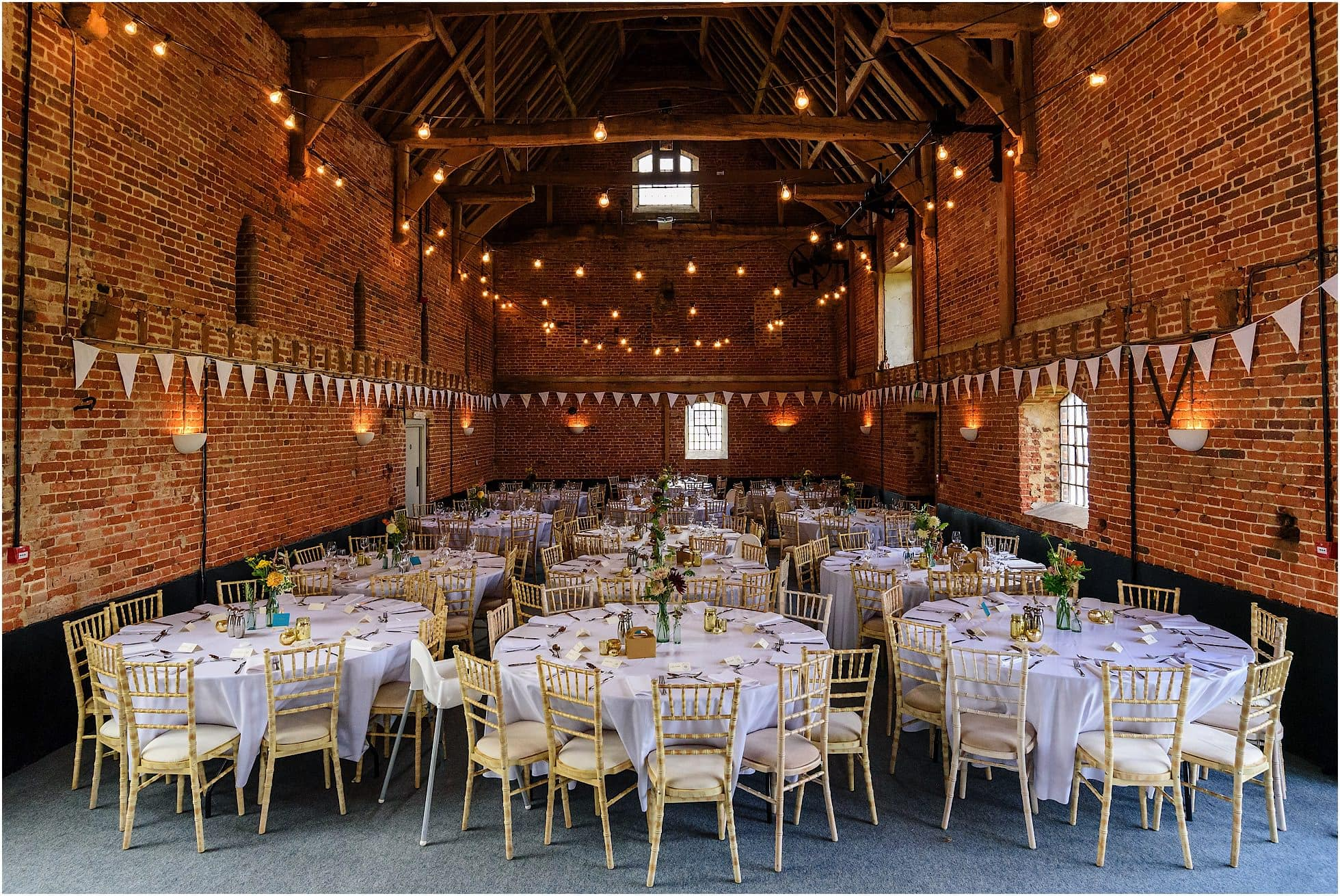 godwick great barn wedding tables and chairs