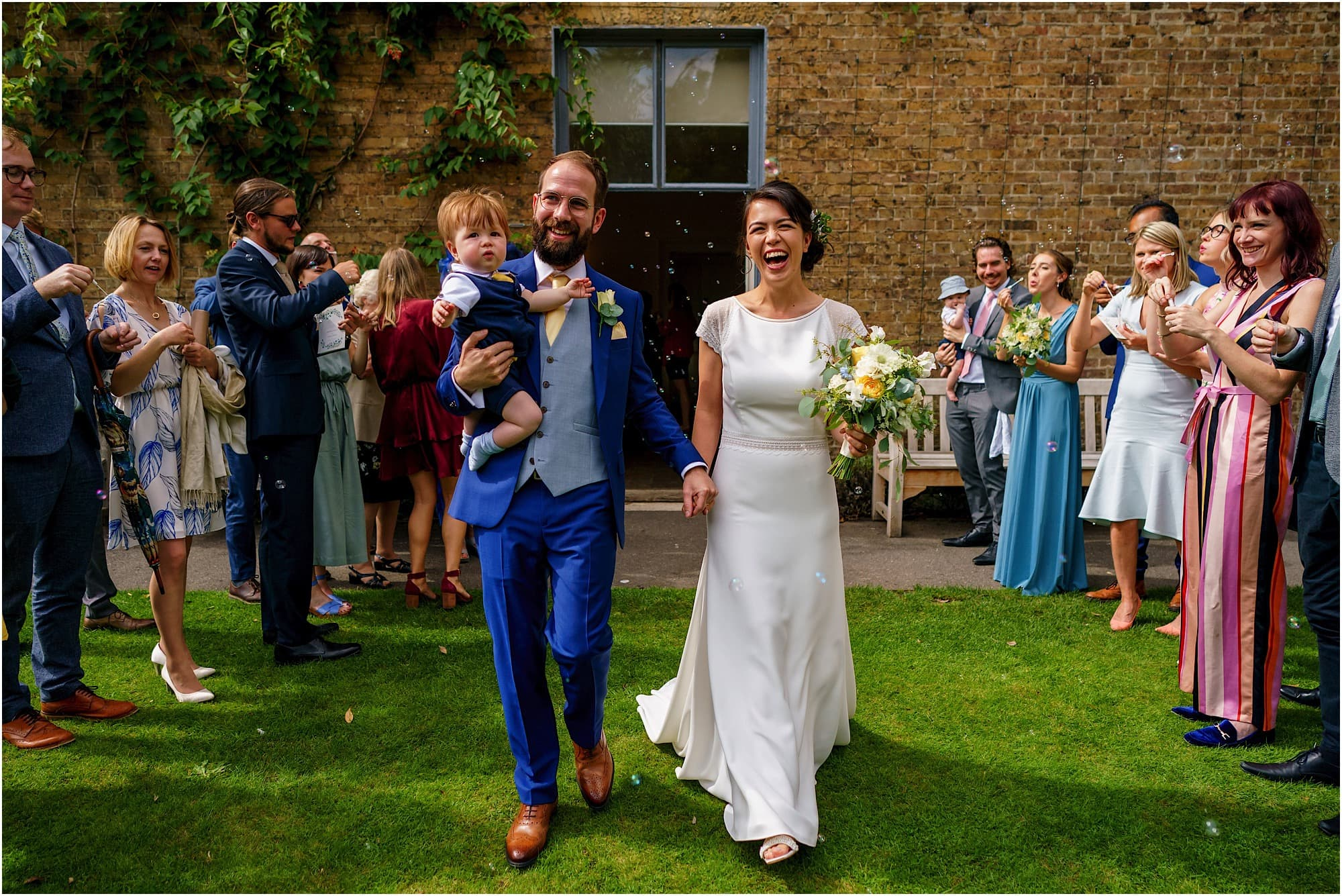 Kew Gardens Cottage Wedding