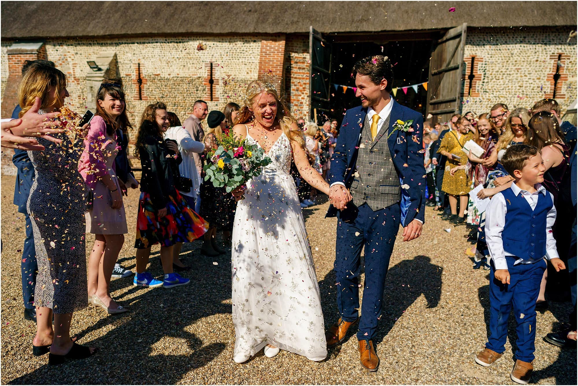 Waxham Barns Wedding