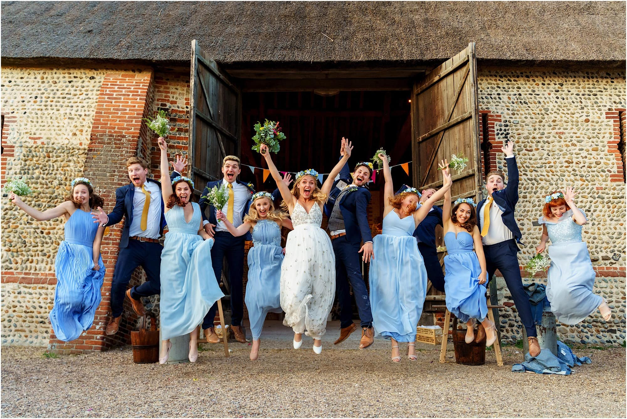 Waxham Barn Bridal Party