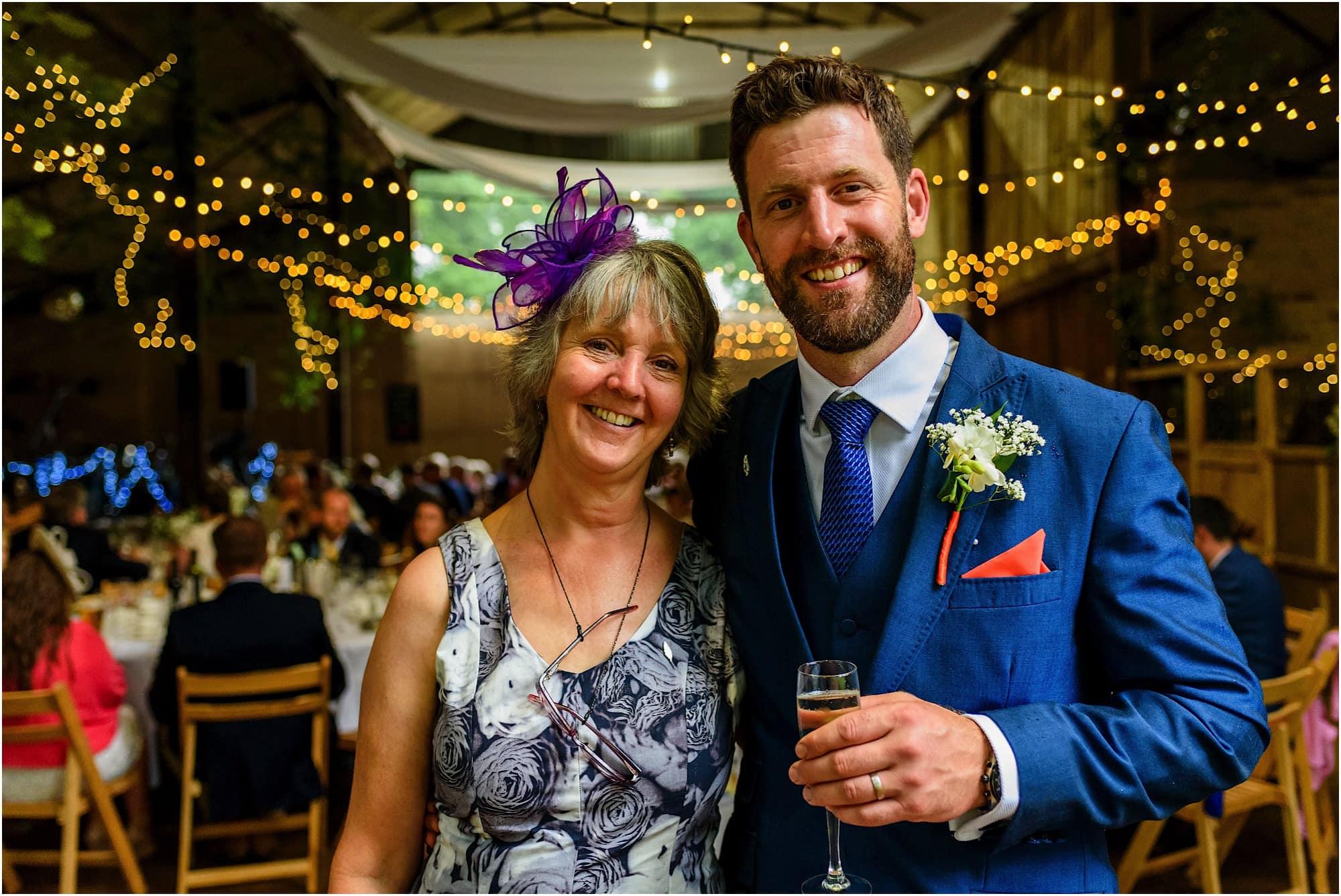 mum and groom