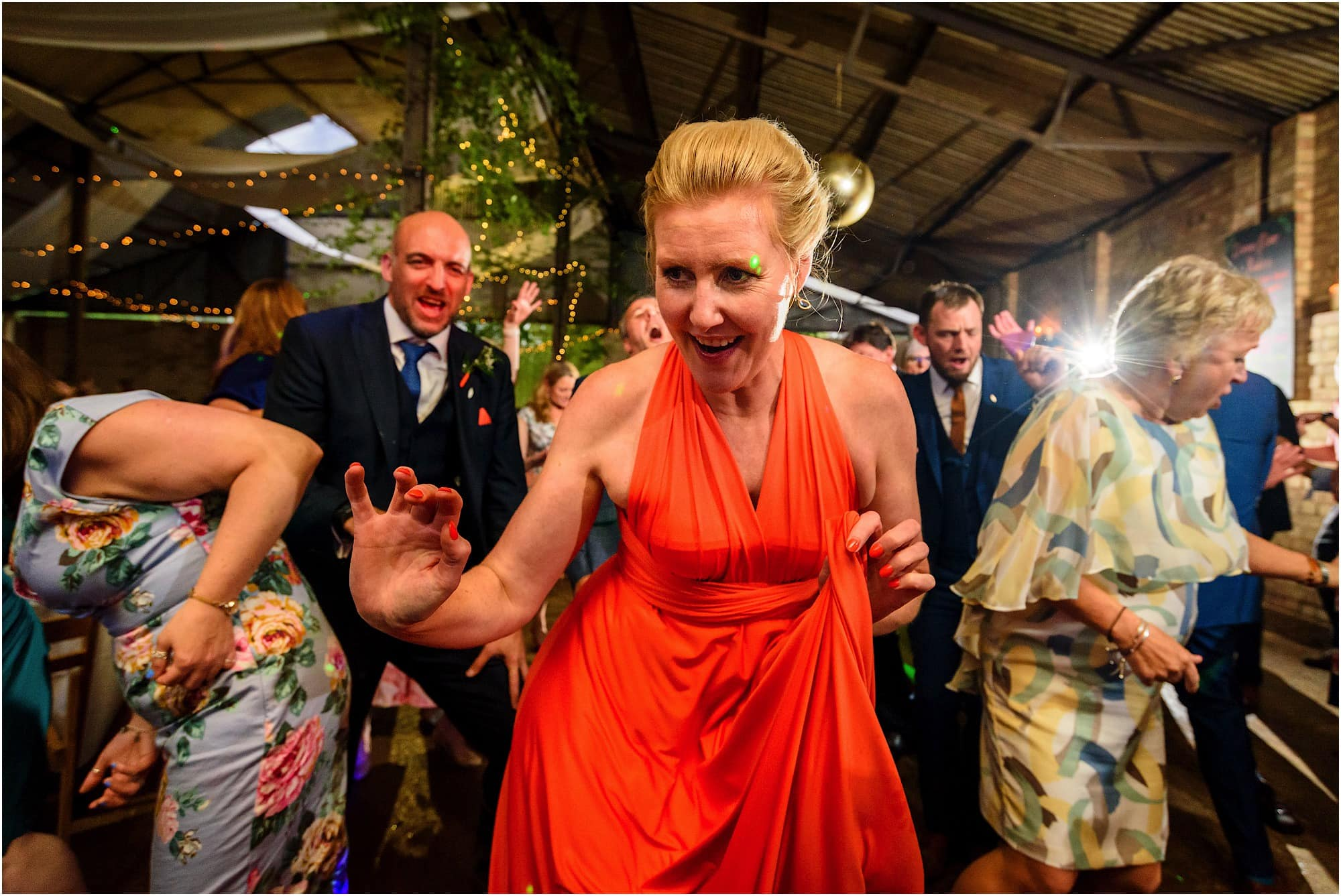 bridesmaid dance