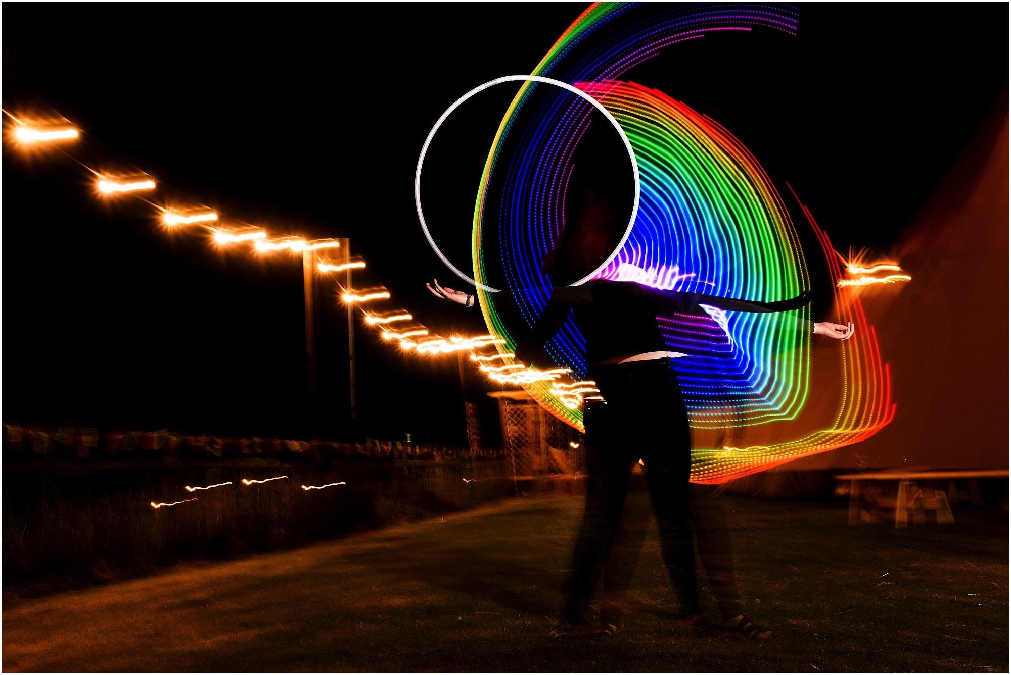 crazy light dance