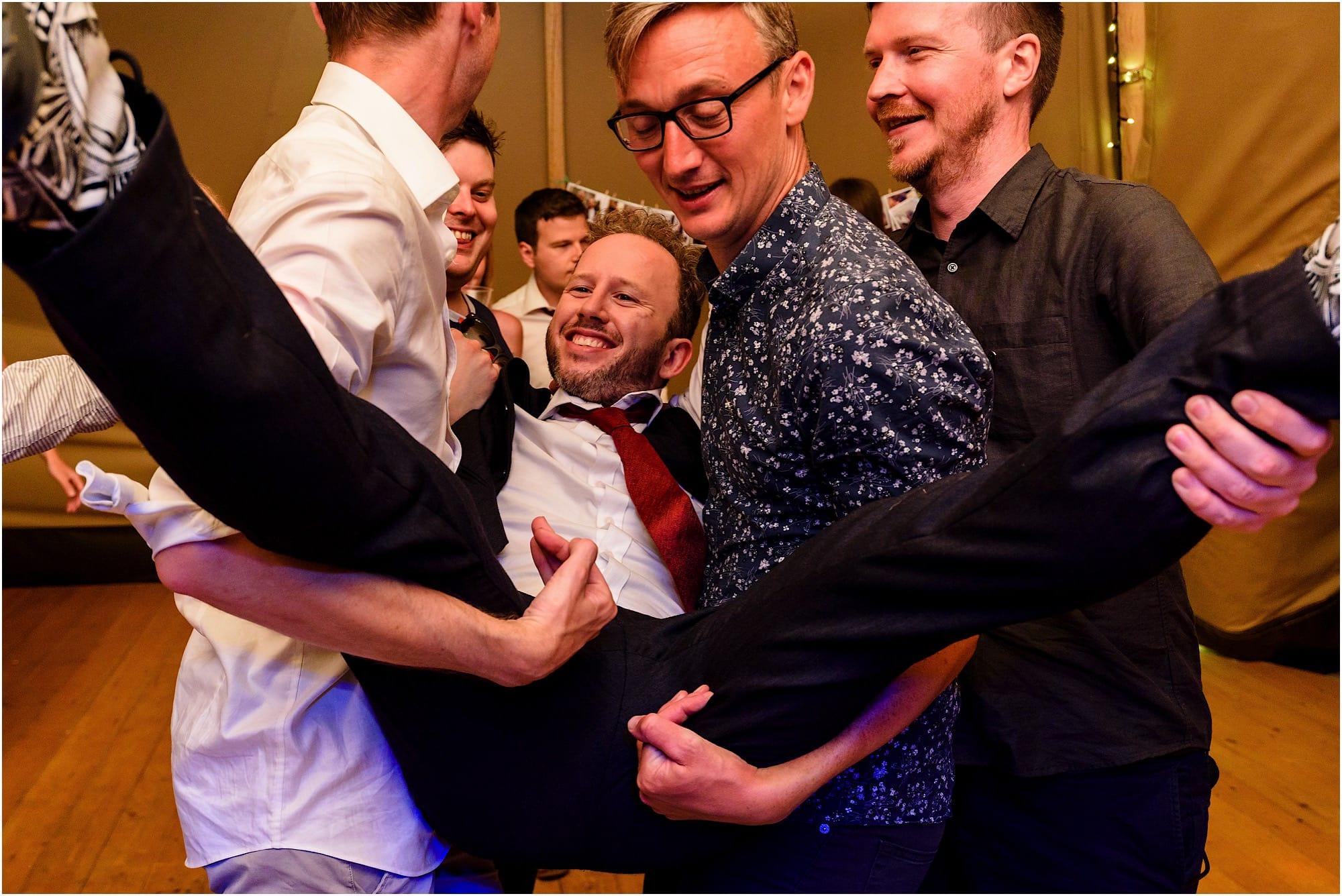 groom lifted again!
