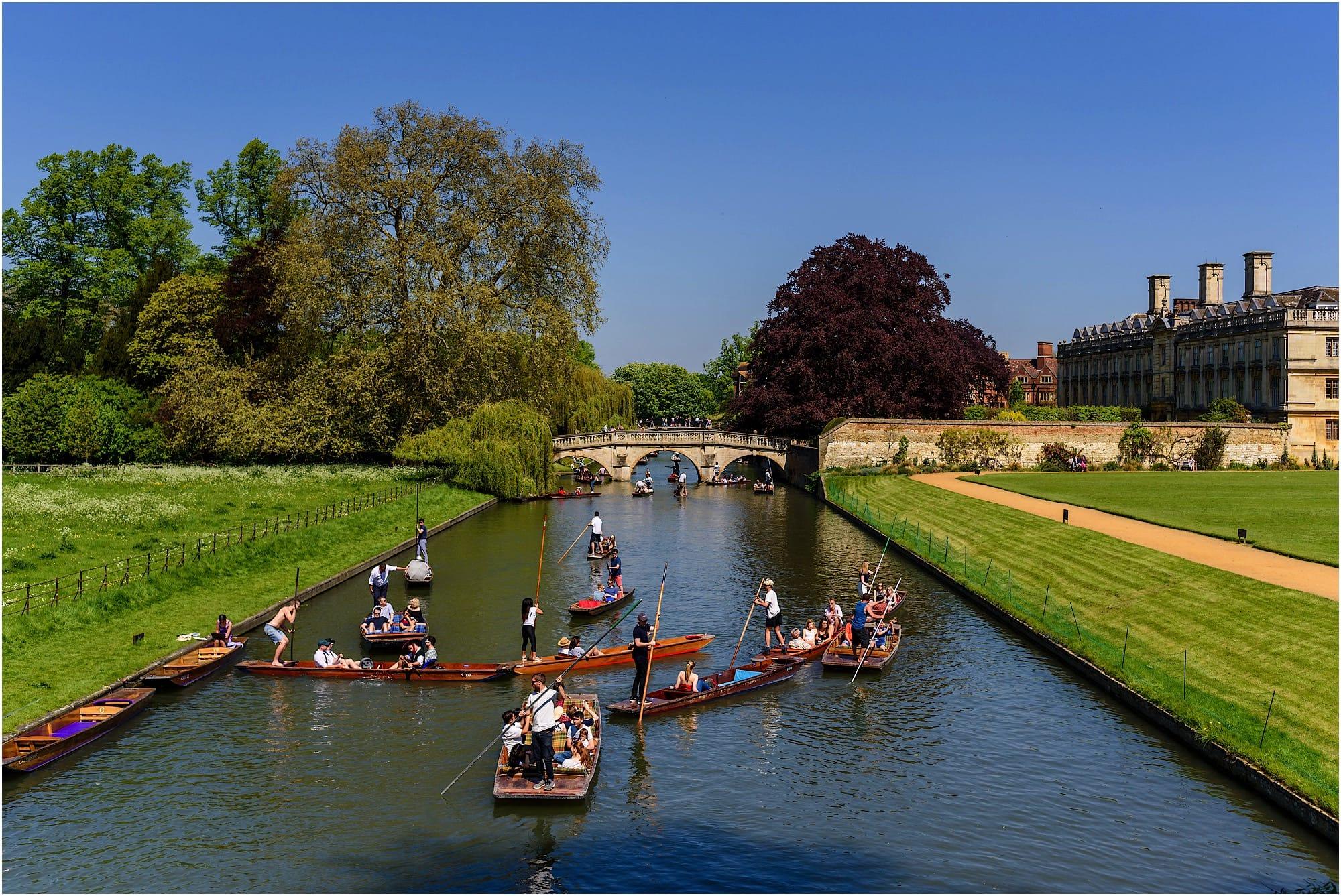 Kings College Cambridge bridge