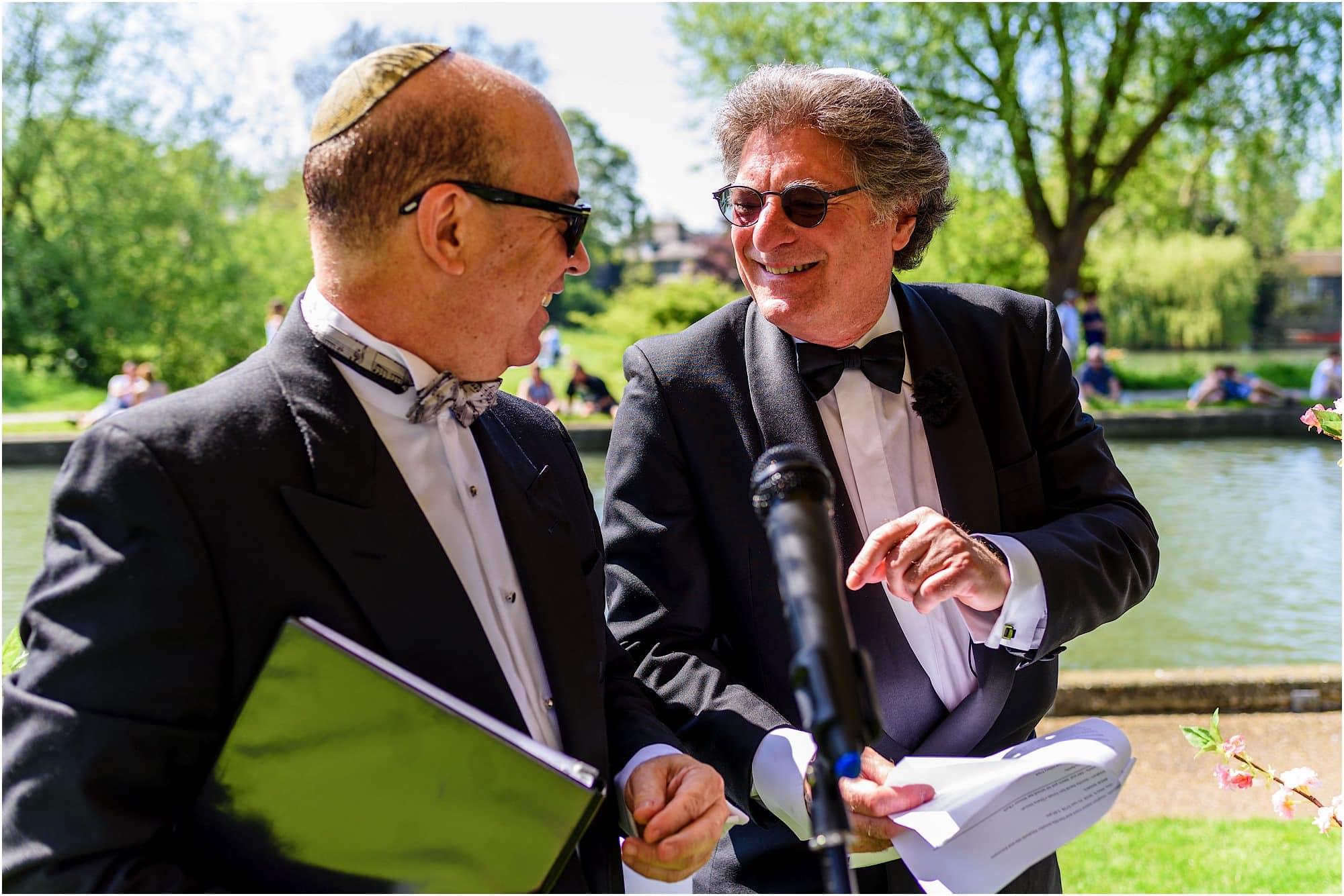 rabbi jewish wedding
