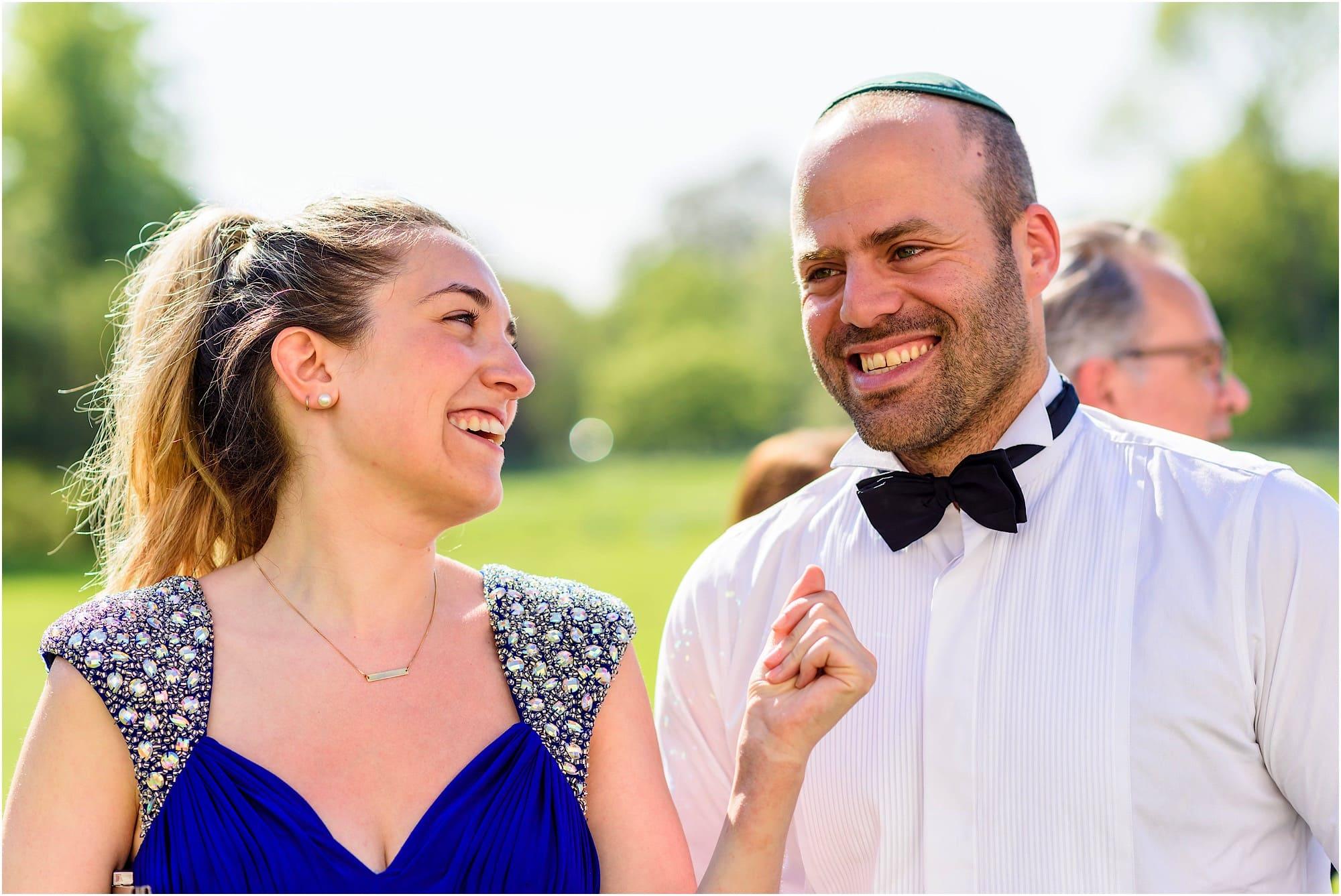 Jewish wedding guests