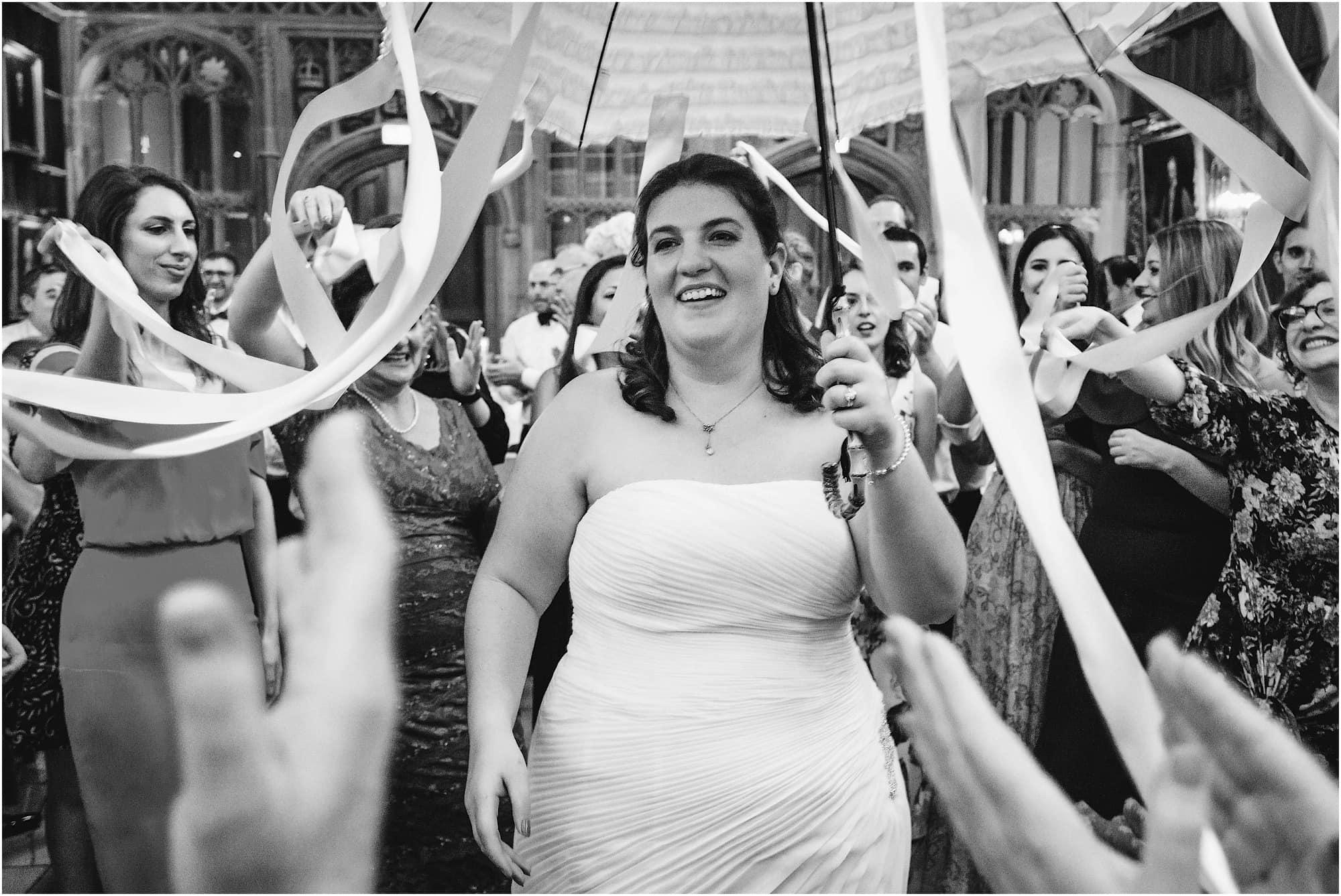 Israeli dancing bride