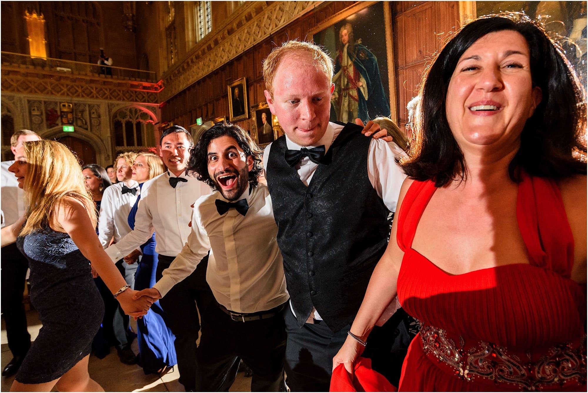 Kings College Cambridge Wedding dancing
