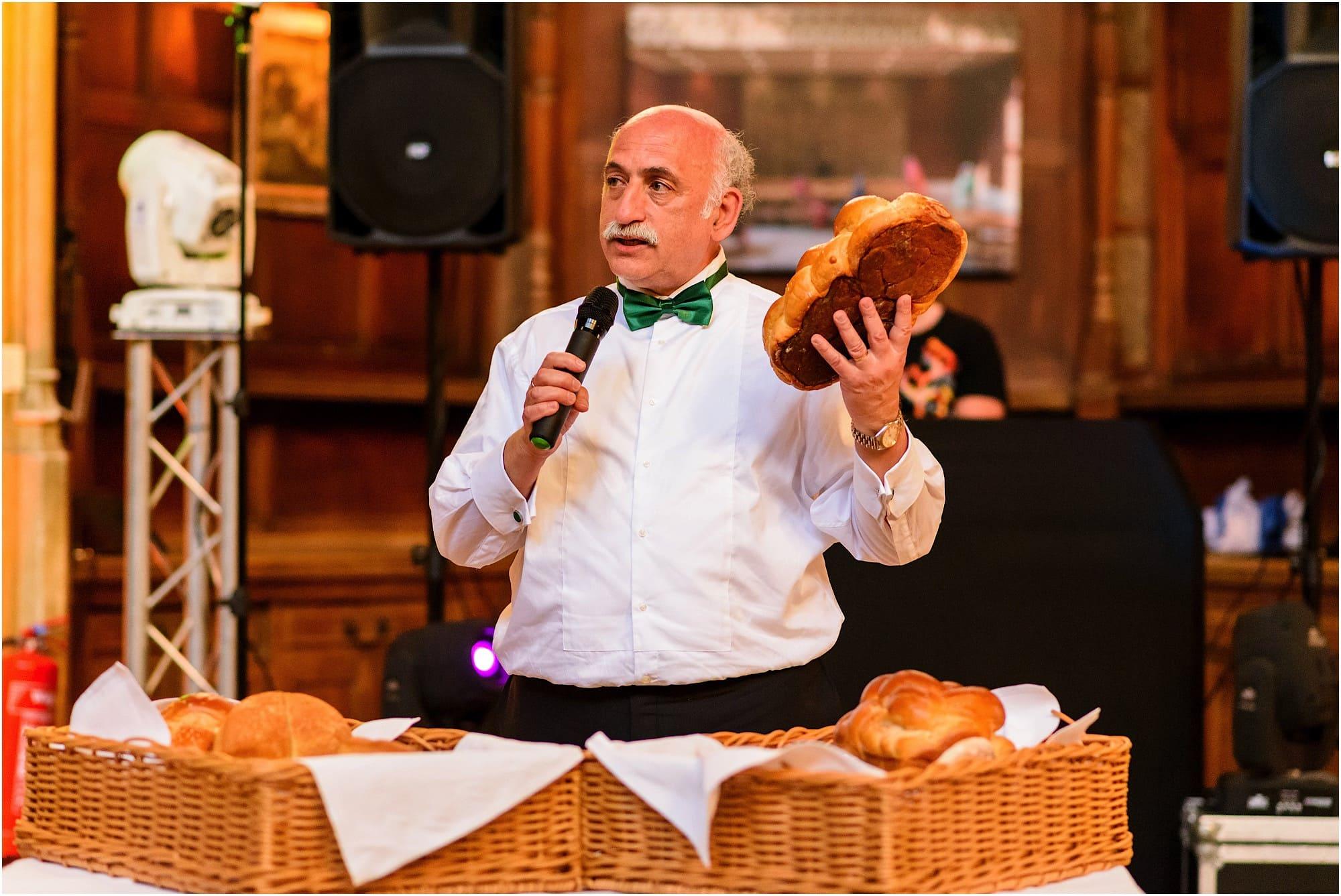 breaking the bread